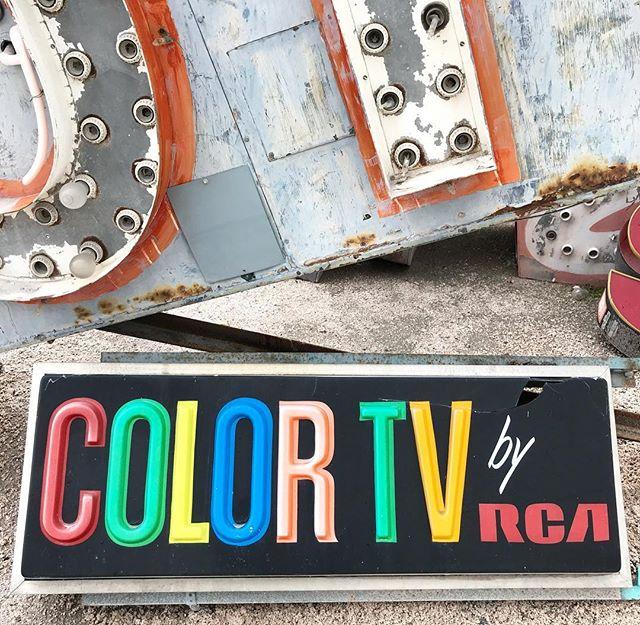 Neon Boneyard, live in color