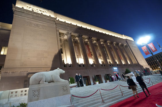 This story focused on the newly reopened Peabody Opera House and its place in a very different St. Louis entertainment culture.