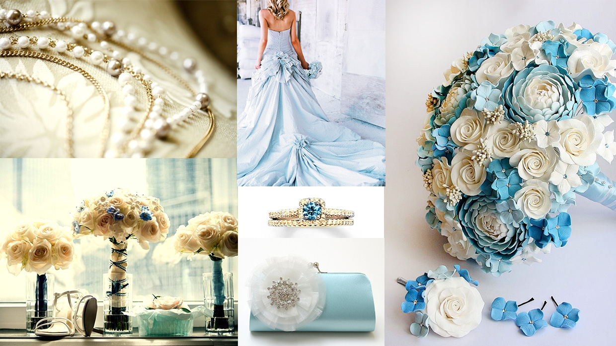 Color References: Elegant blue and classy gold