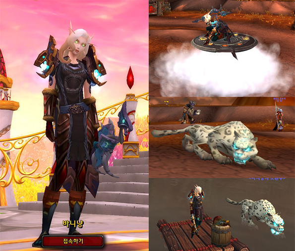 World of Warcraft(Mists of Pandaria): Blood Elf Hunter