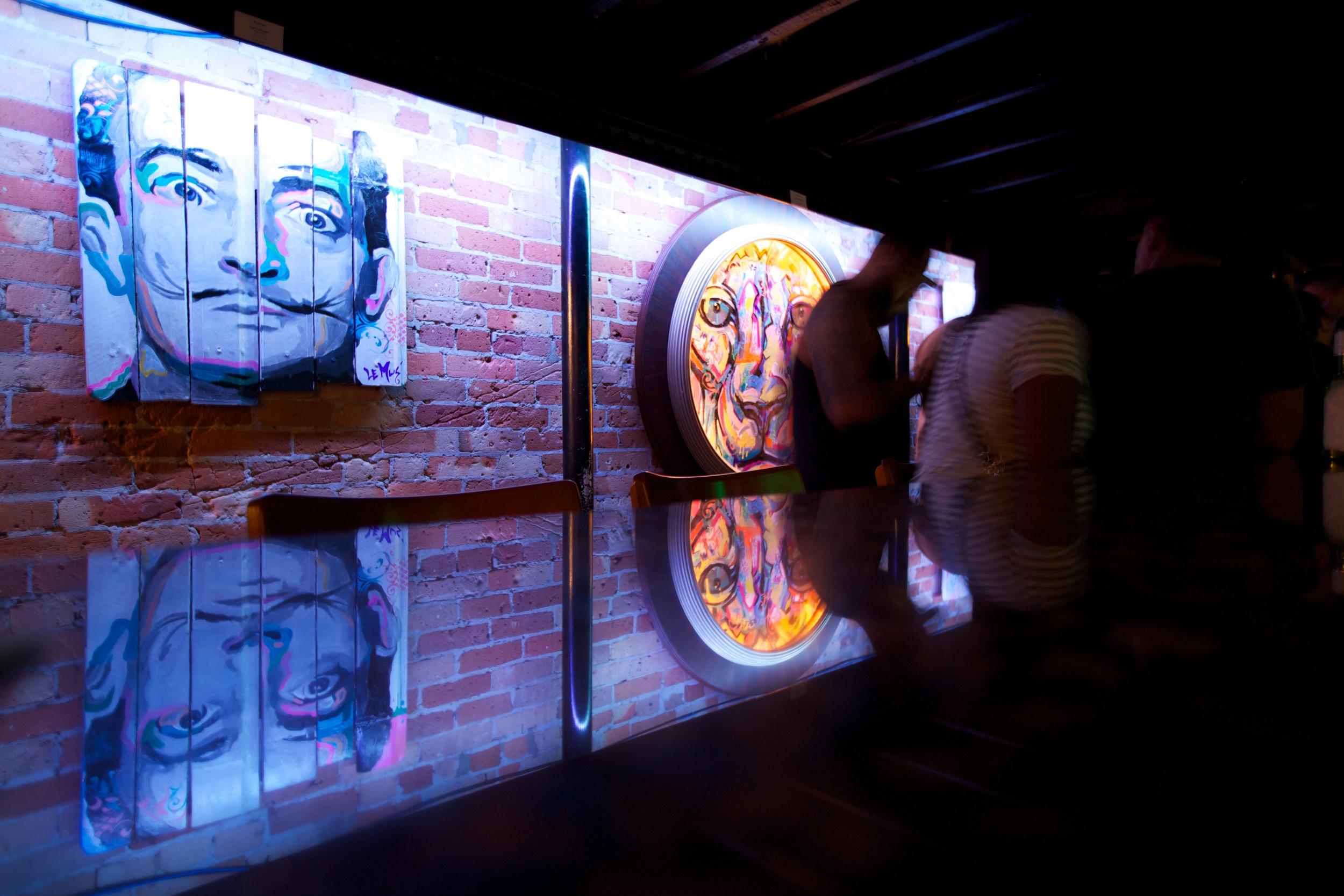 Art Openingat NV Lounge, Orlando