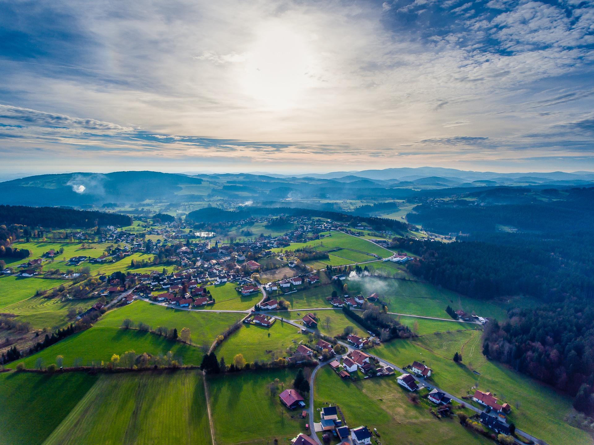 A crisp Bavarian fall day