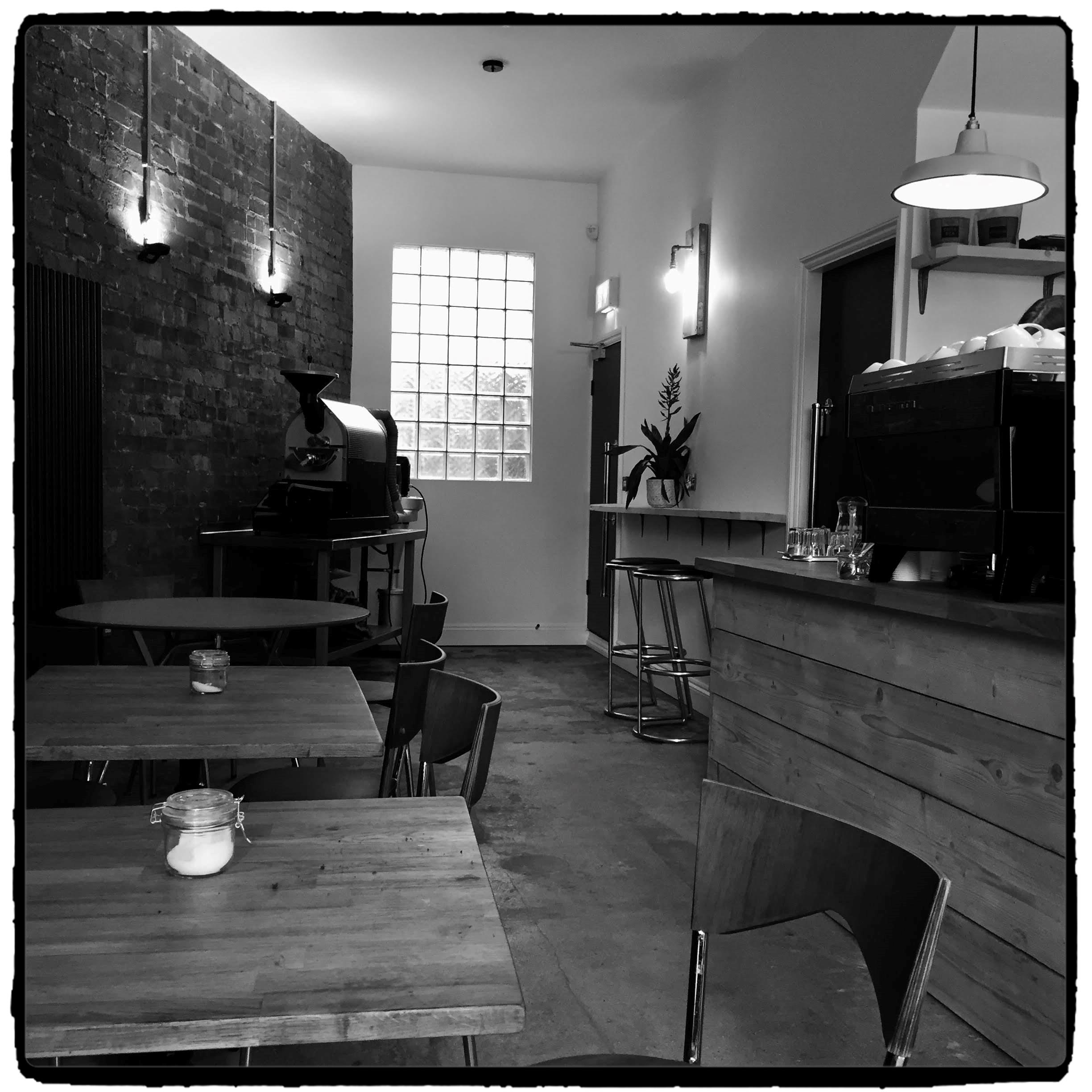Inside Leicester Coffee House