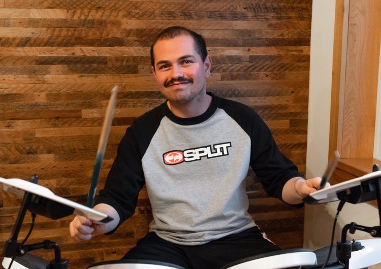Eric Panetta : Click on this photo to check out Eric's fantastic drumming!