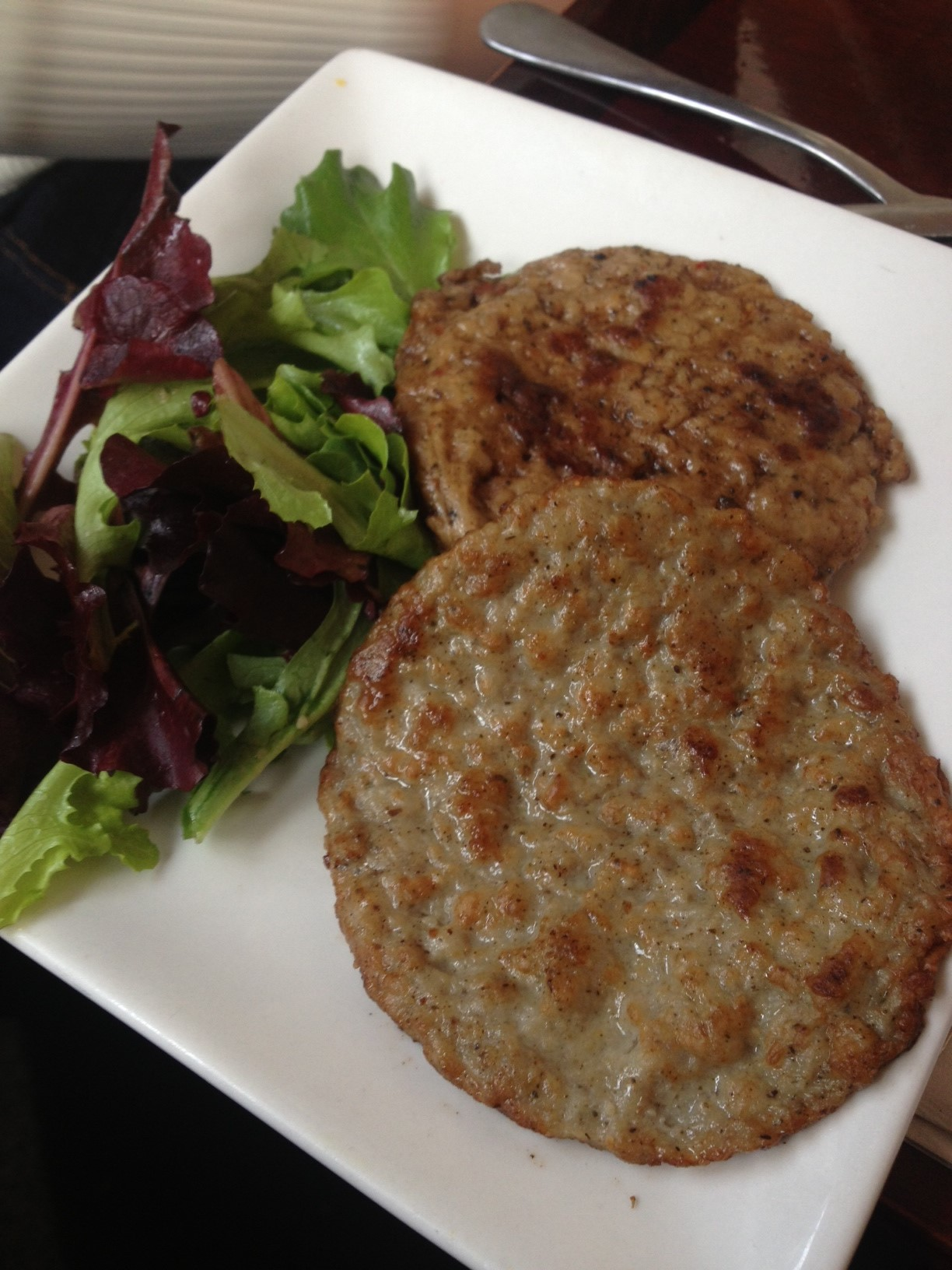 Check out these HUGE sausage patties!