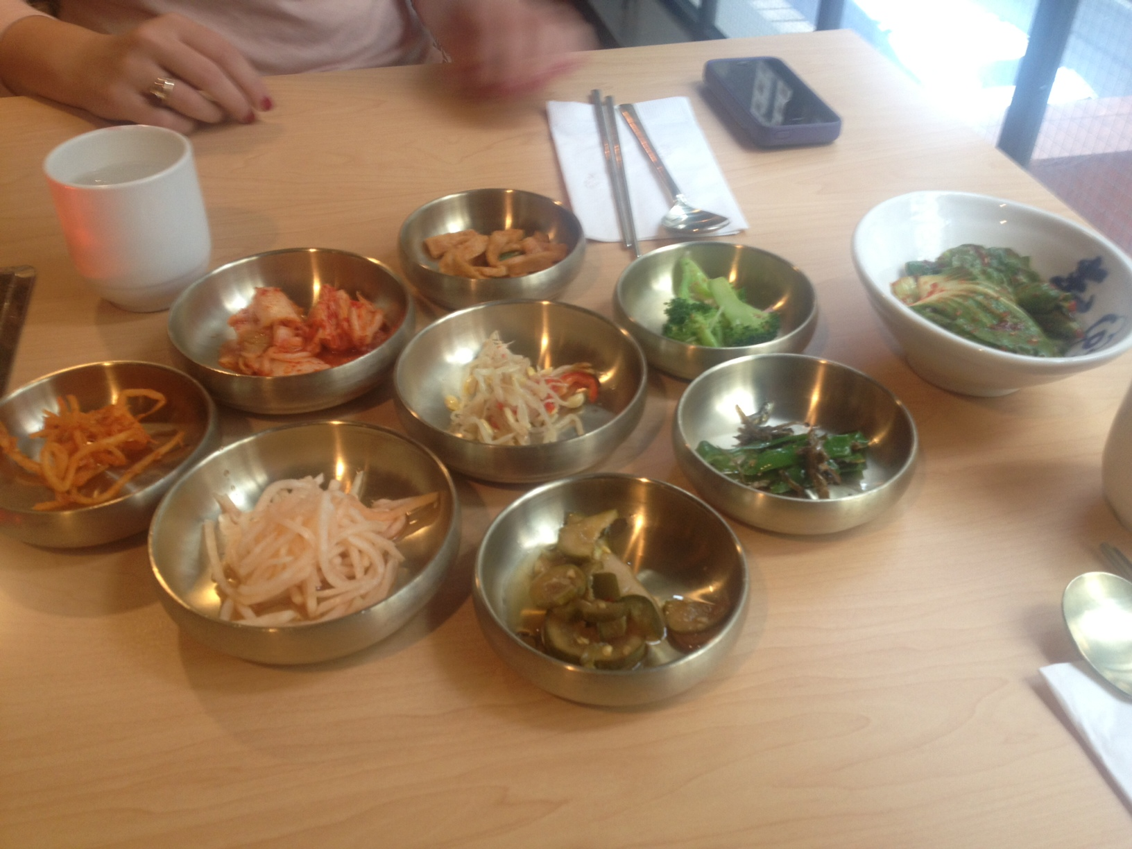 Mystery Appetizers! Gimme that Kimchi!