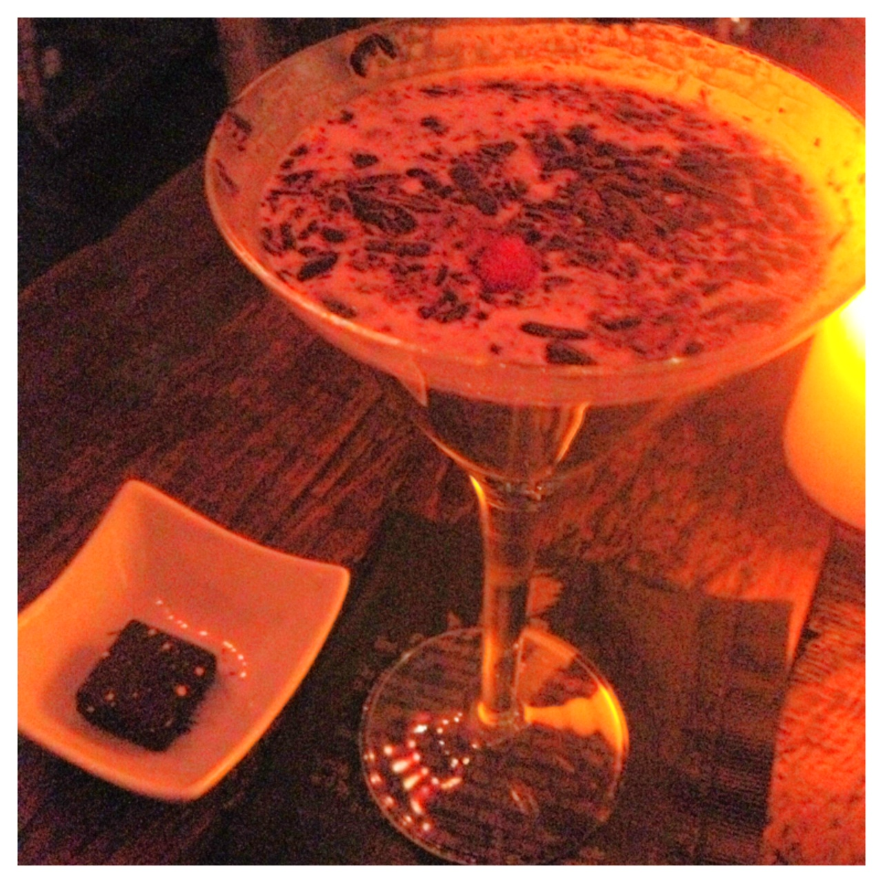 Raspberry Chocolate Martini
