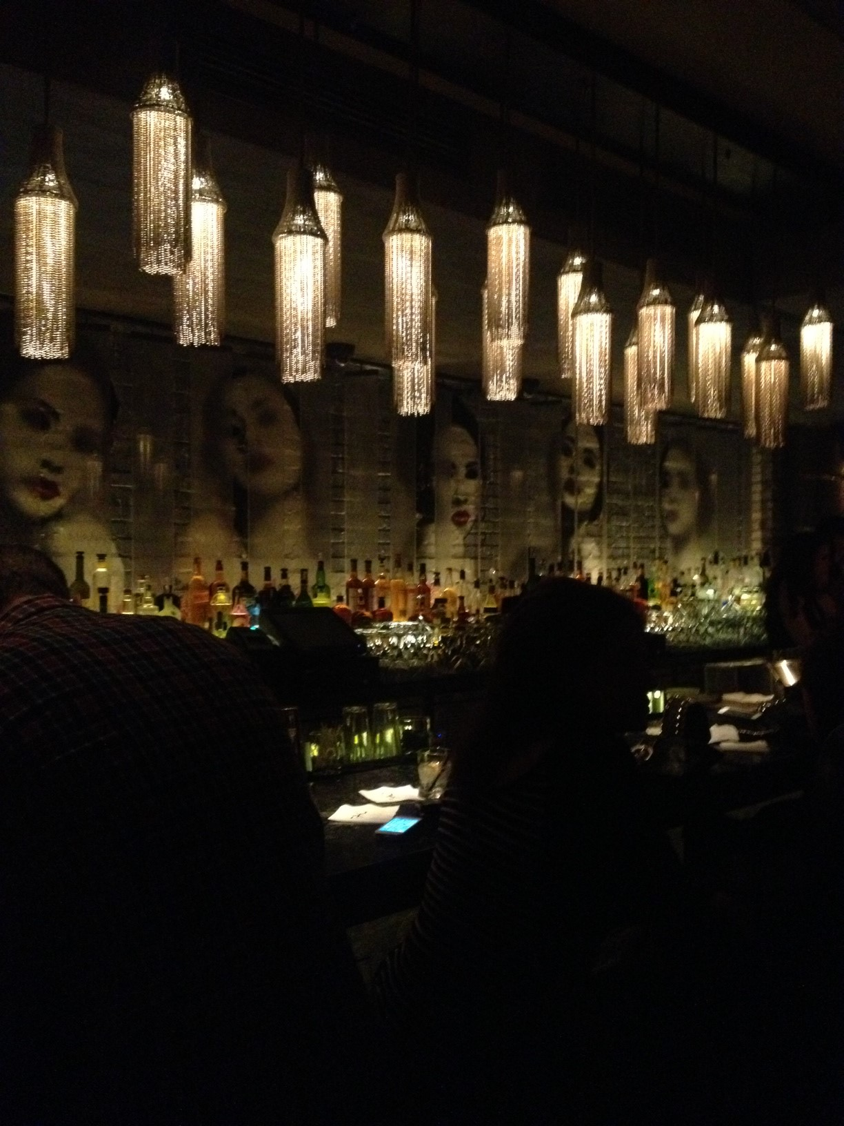 The Back Bar - The Geishas are Ready for You!