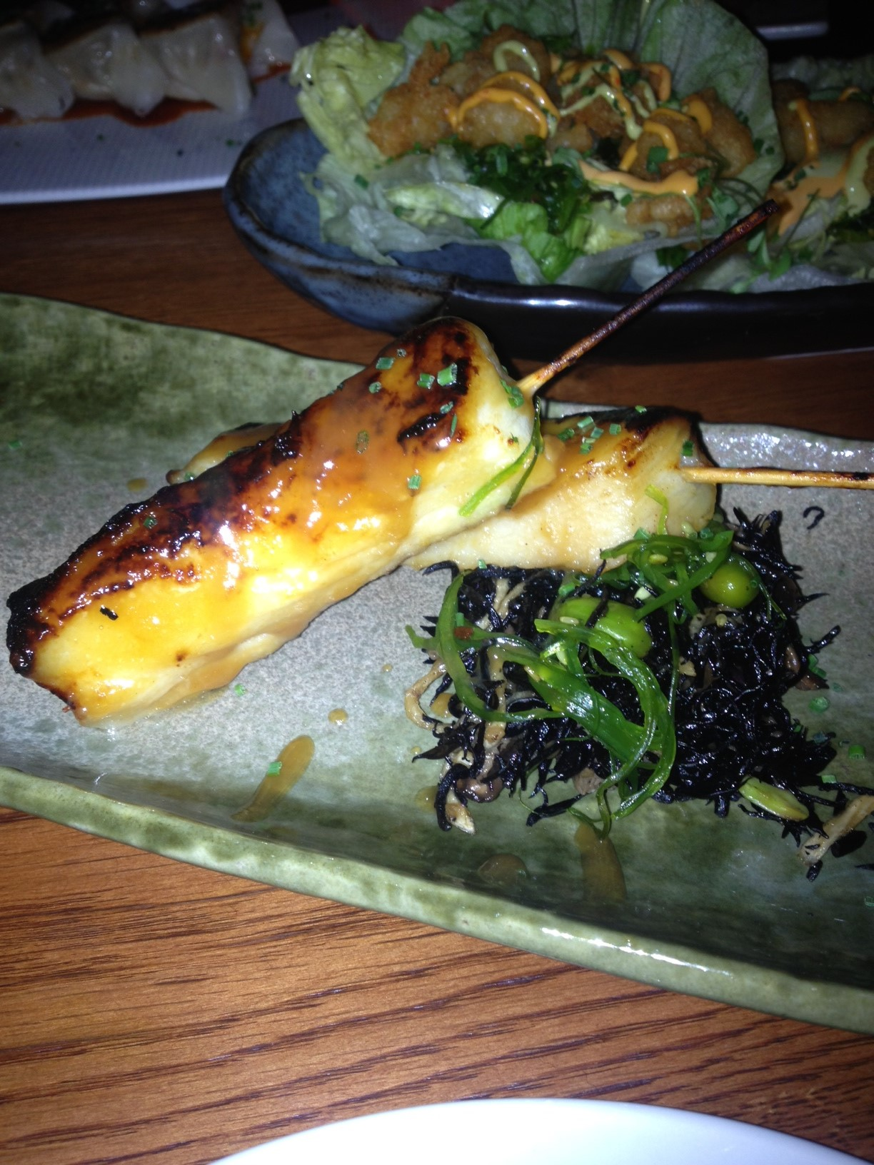 Satay of Chilean Sea Bass