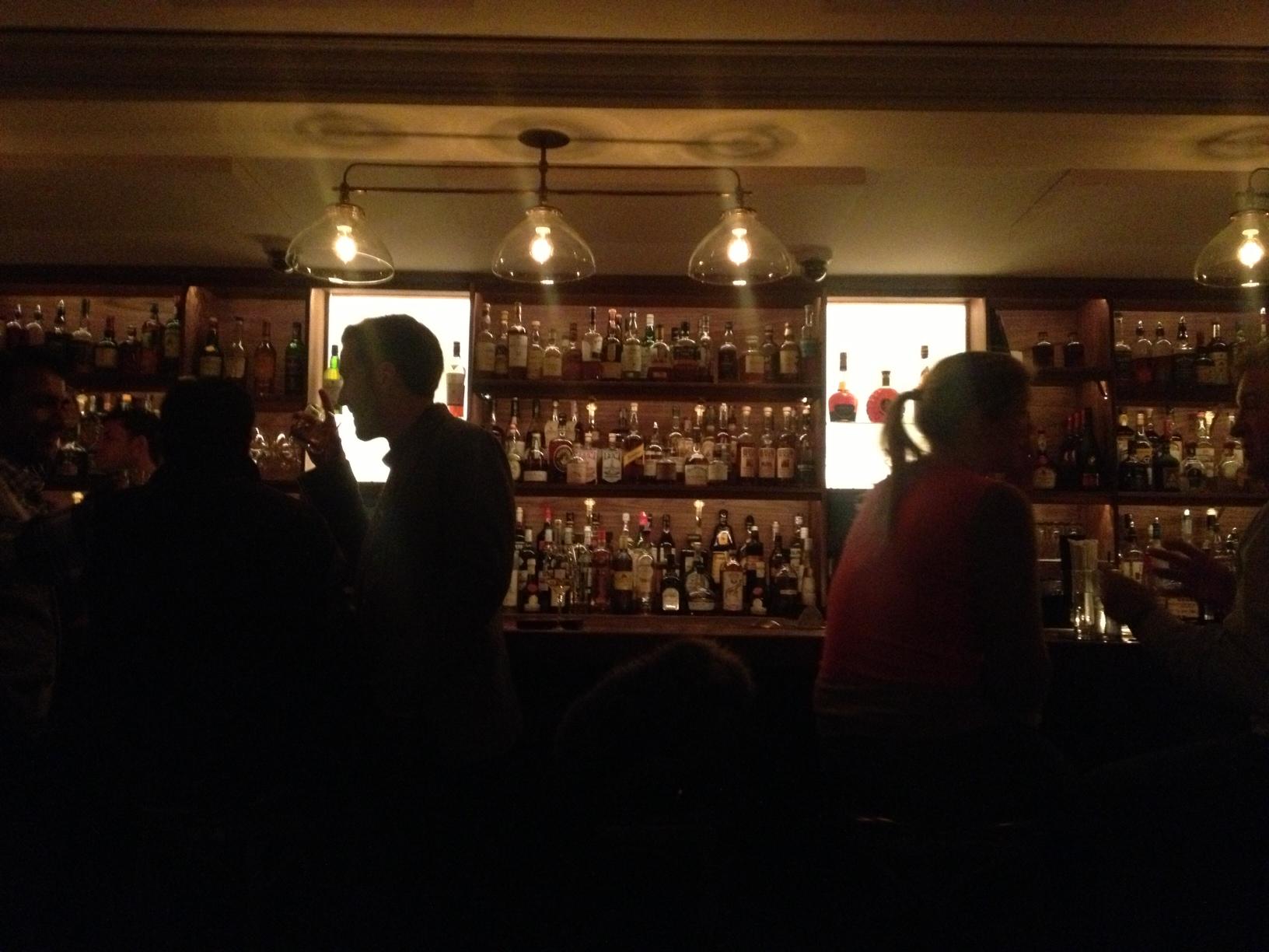 Swanky Back Bar!