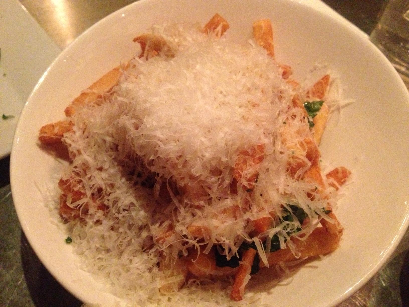 Garlic Herb Parmesan Fries