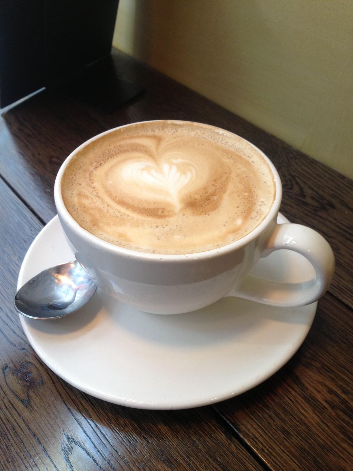 Cappuccino, how I heart you!