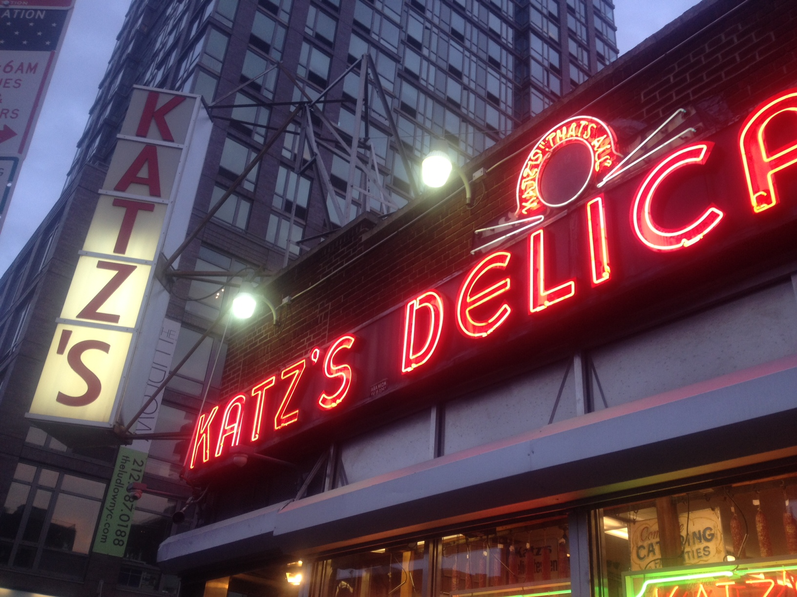 Bright lights, BIG pastrami