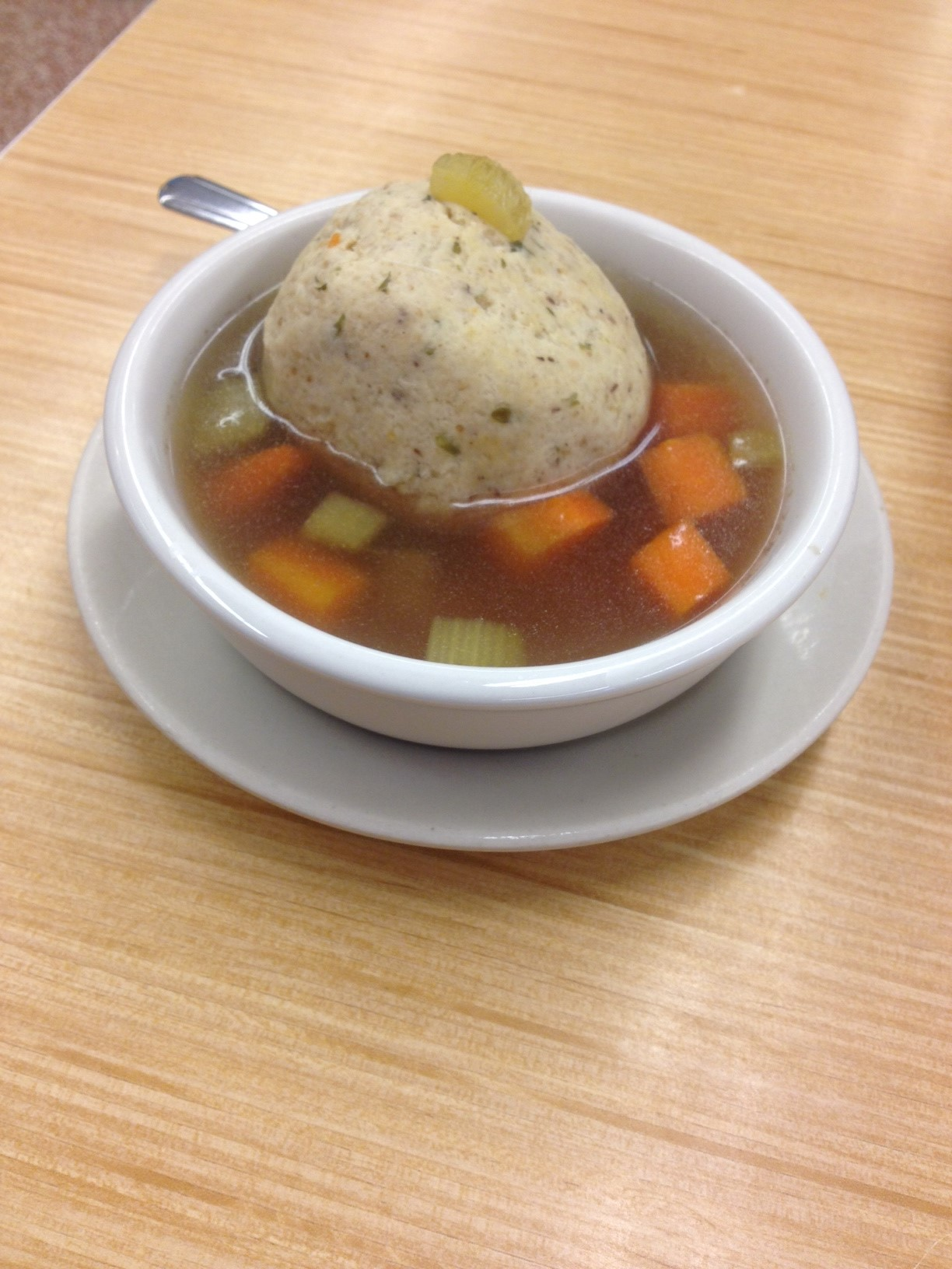 Allegedly, this is Matzo Ball Soup