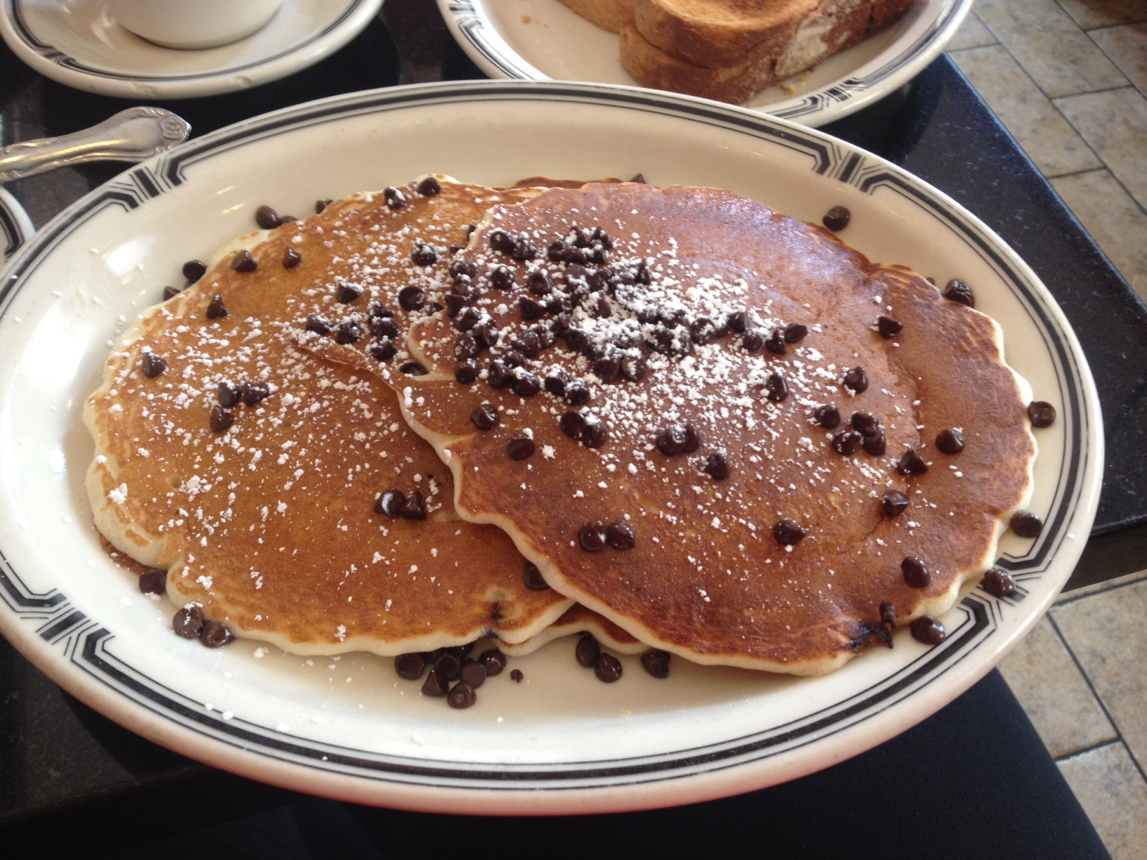 Chocolate Chip Pancakes for the WIN