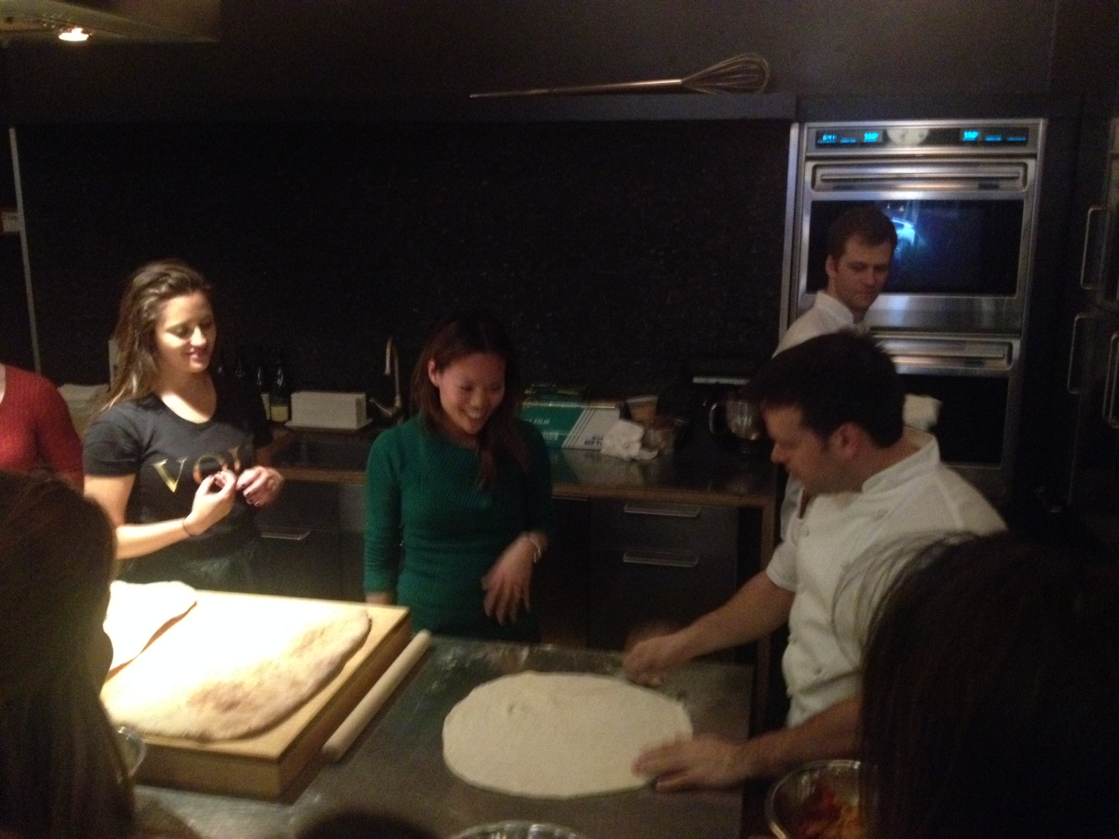 Pizza Making in Progress!