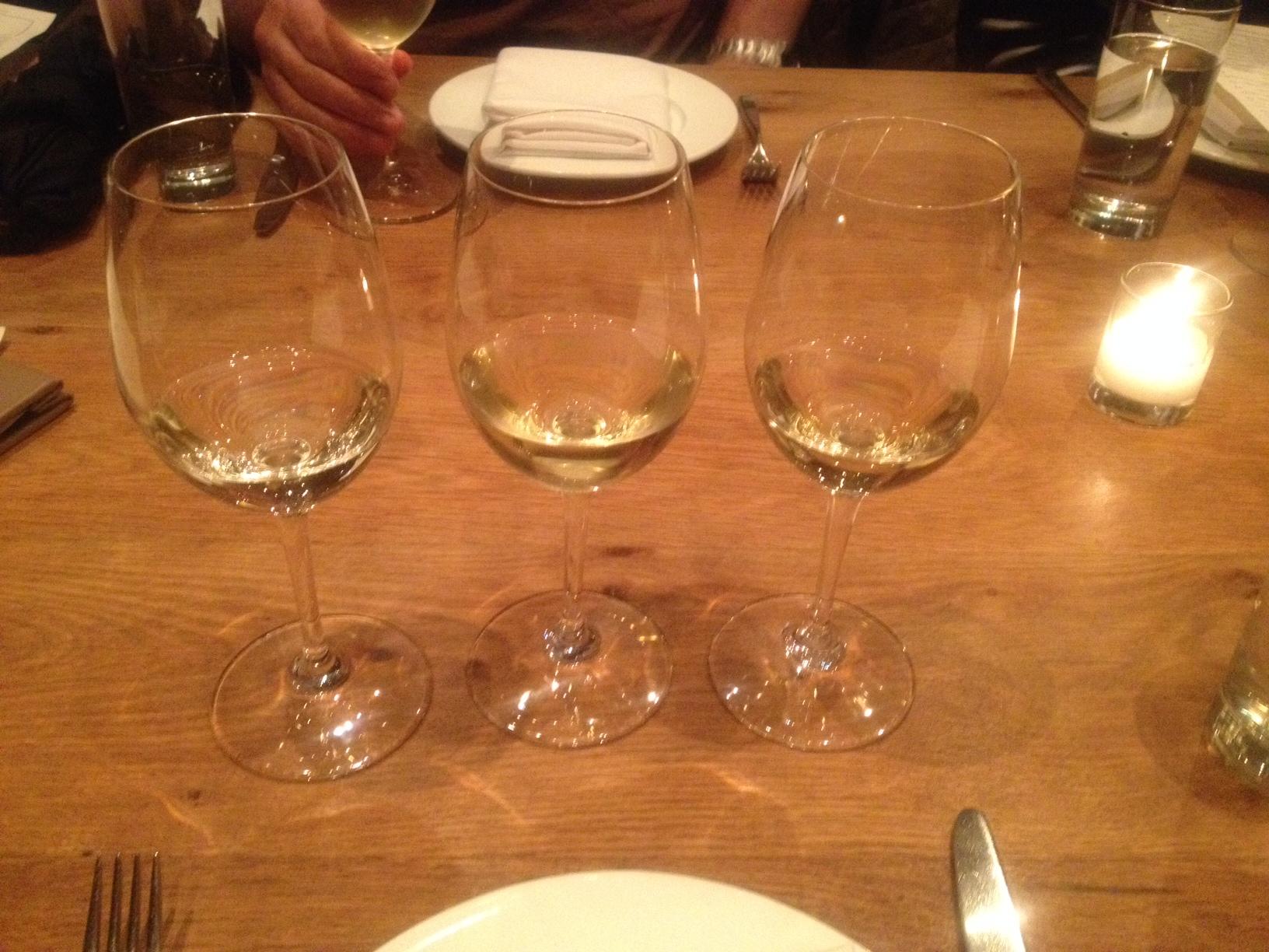 Blind White Wine Tasting