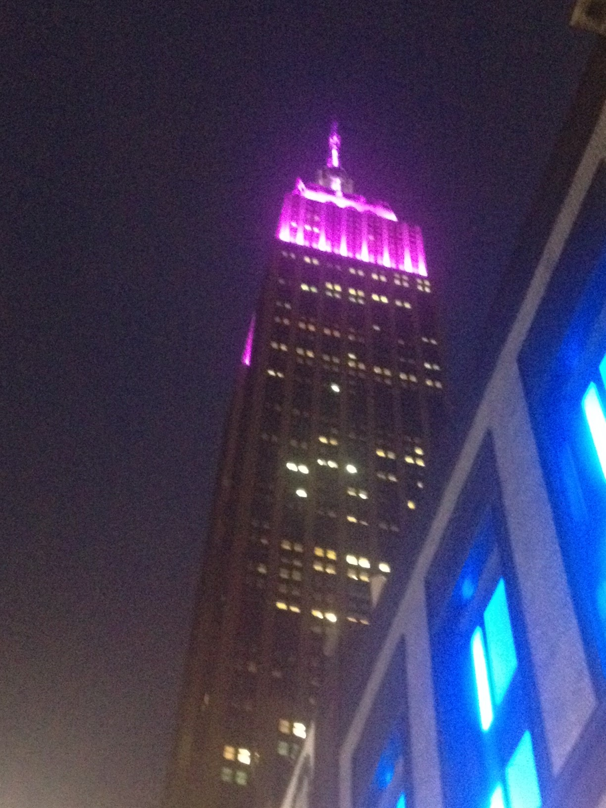 The Empire State Building has never looked better!