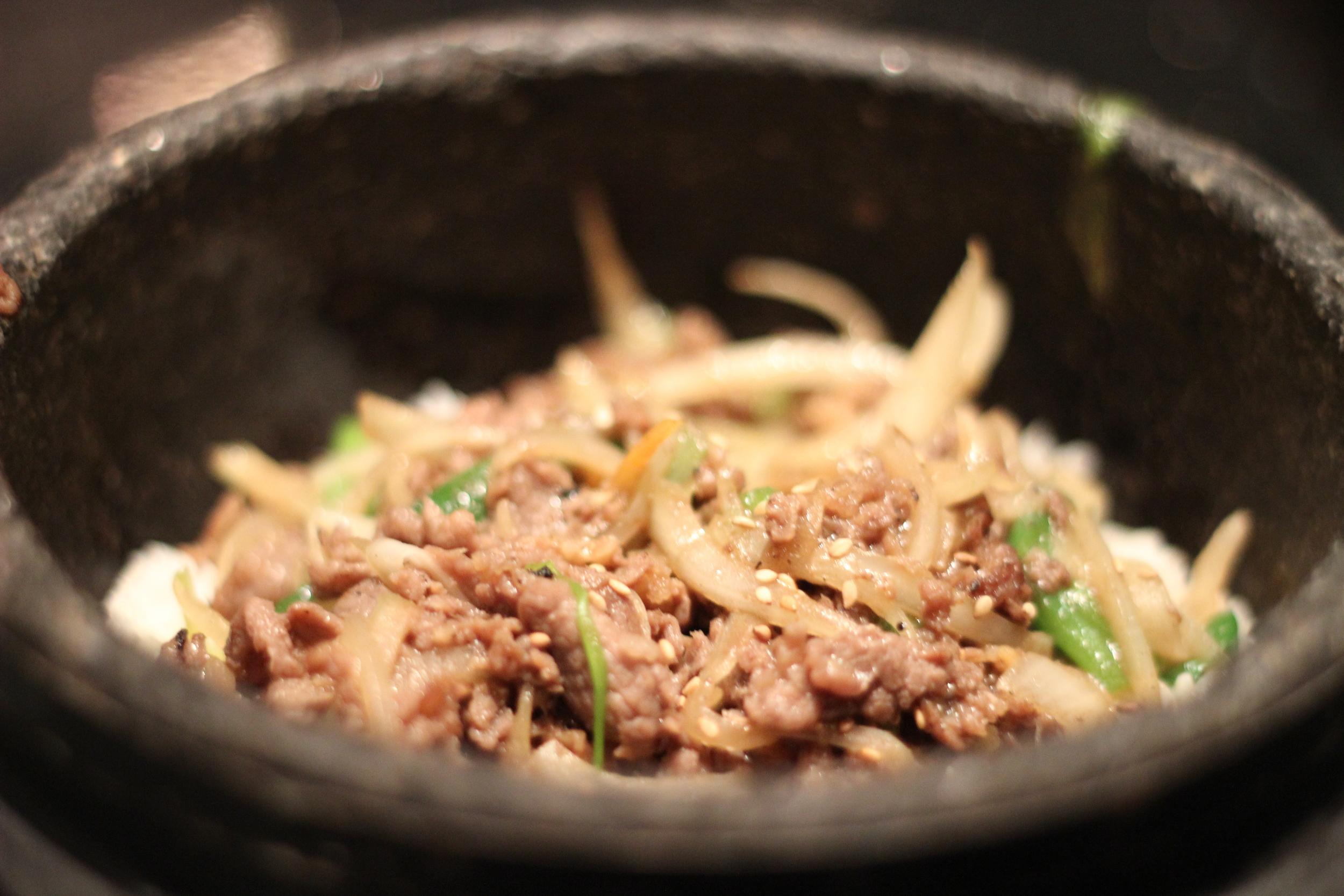 Bulgogi on Rice