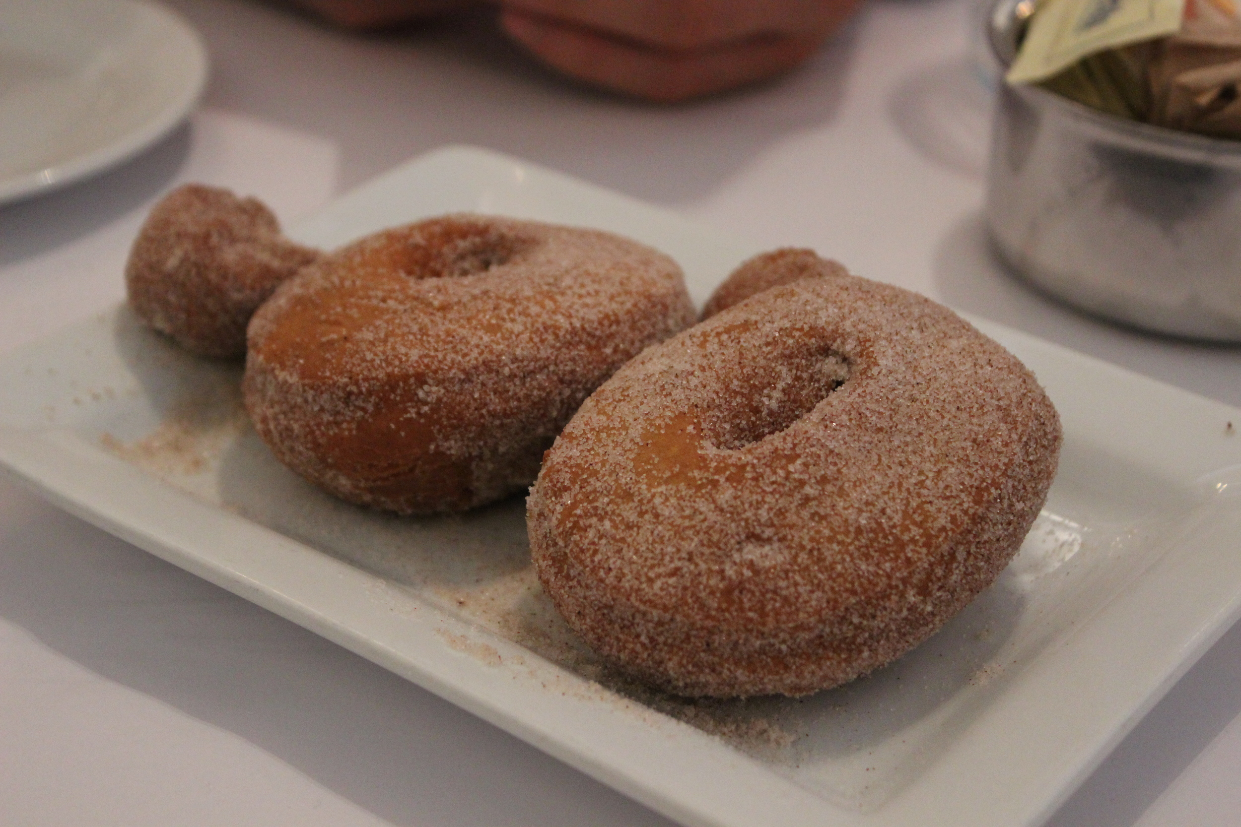 Warm Sugar & Spice Donuts