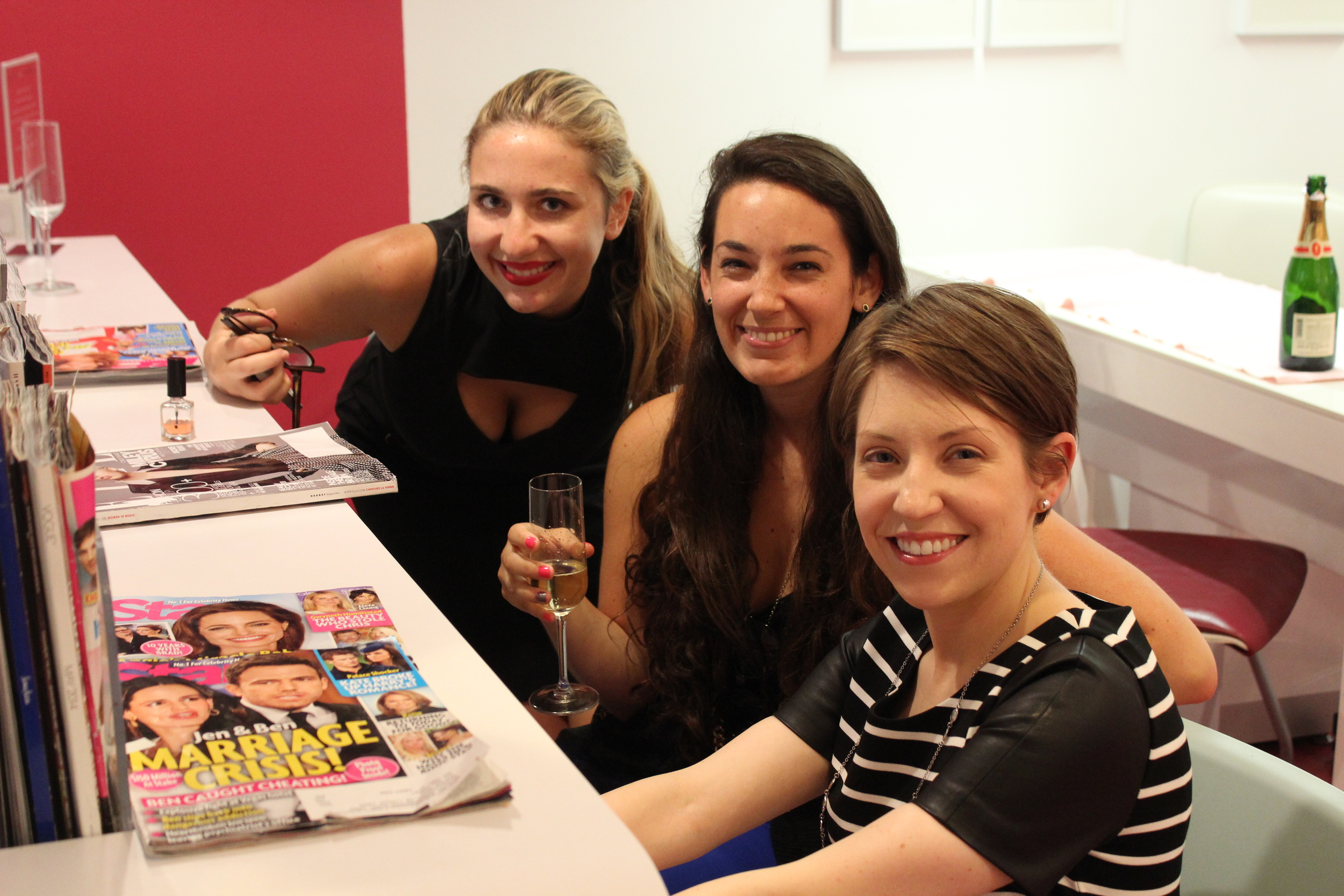 Melissa, Sydnee and Rachel - Stern Hotties