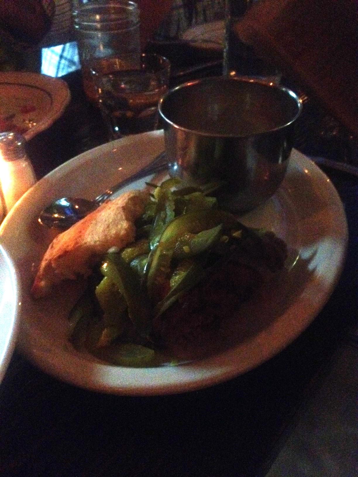 Honey Chicken & Pickles Sandwich