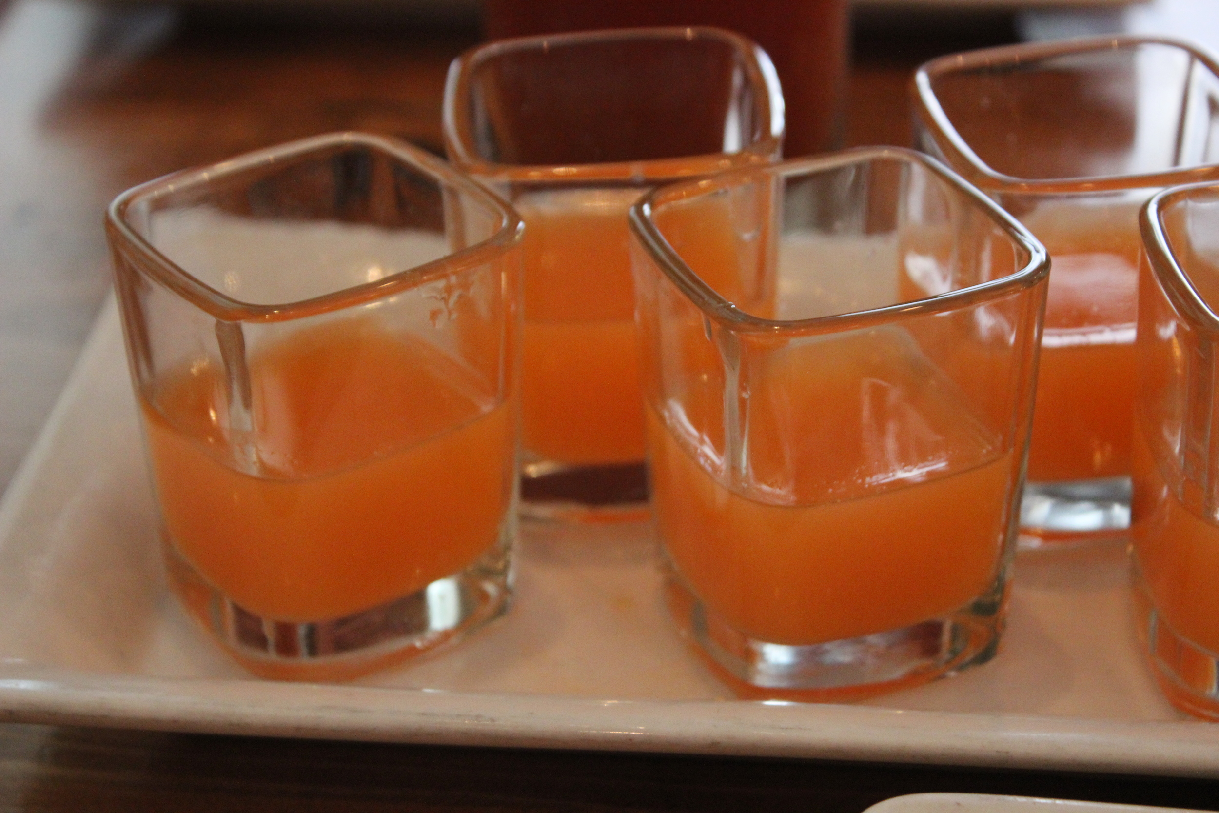 Fresh Squeezed Juice - Carrot & Cantaloupe