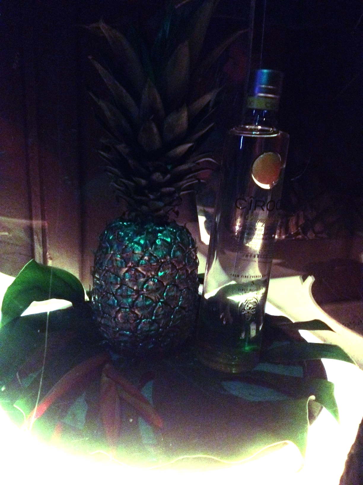 Pineapple Ciroc!