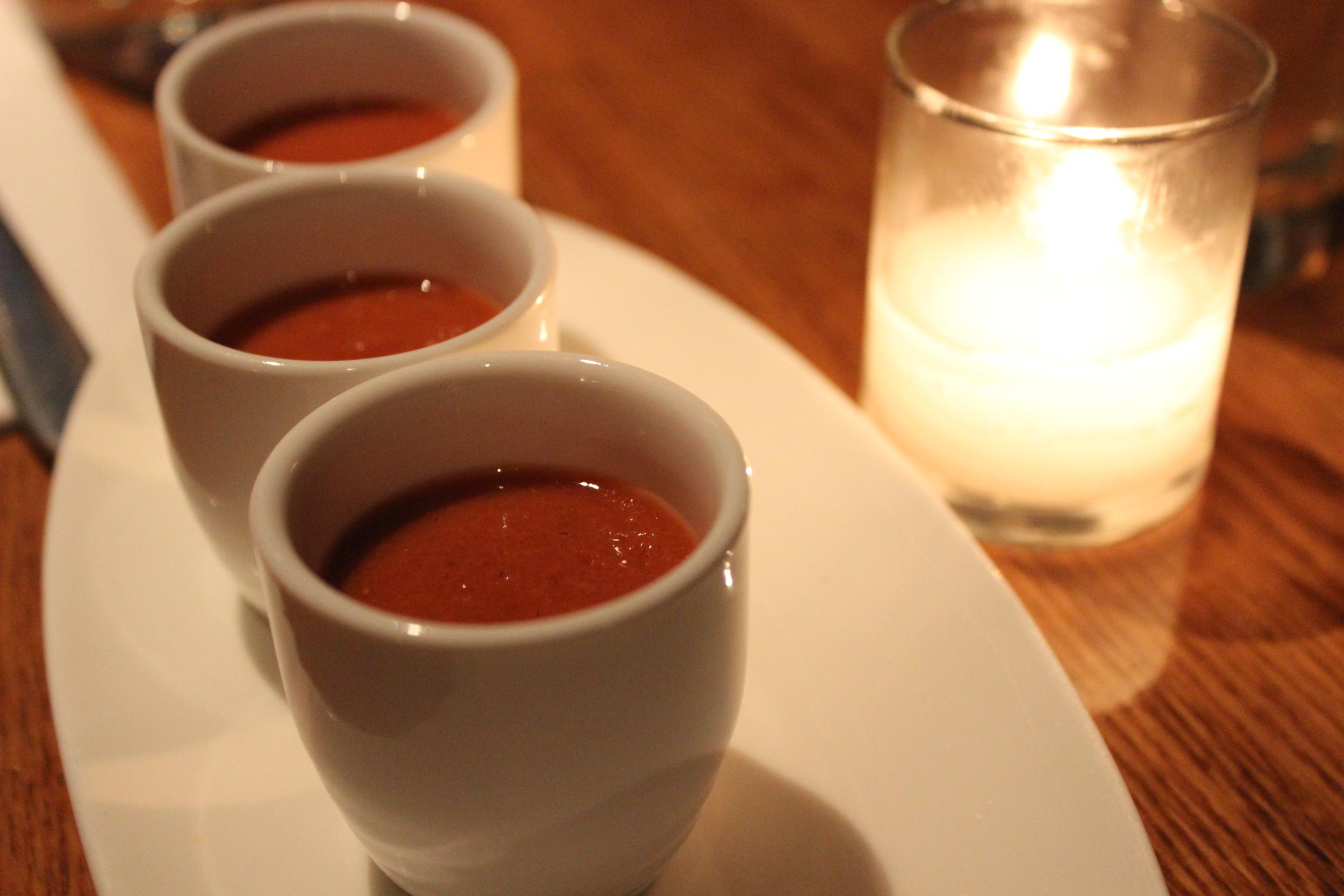Carrot Soup - Amuse Bouche
