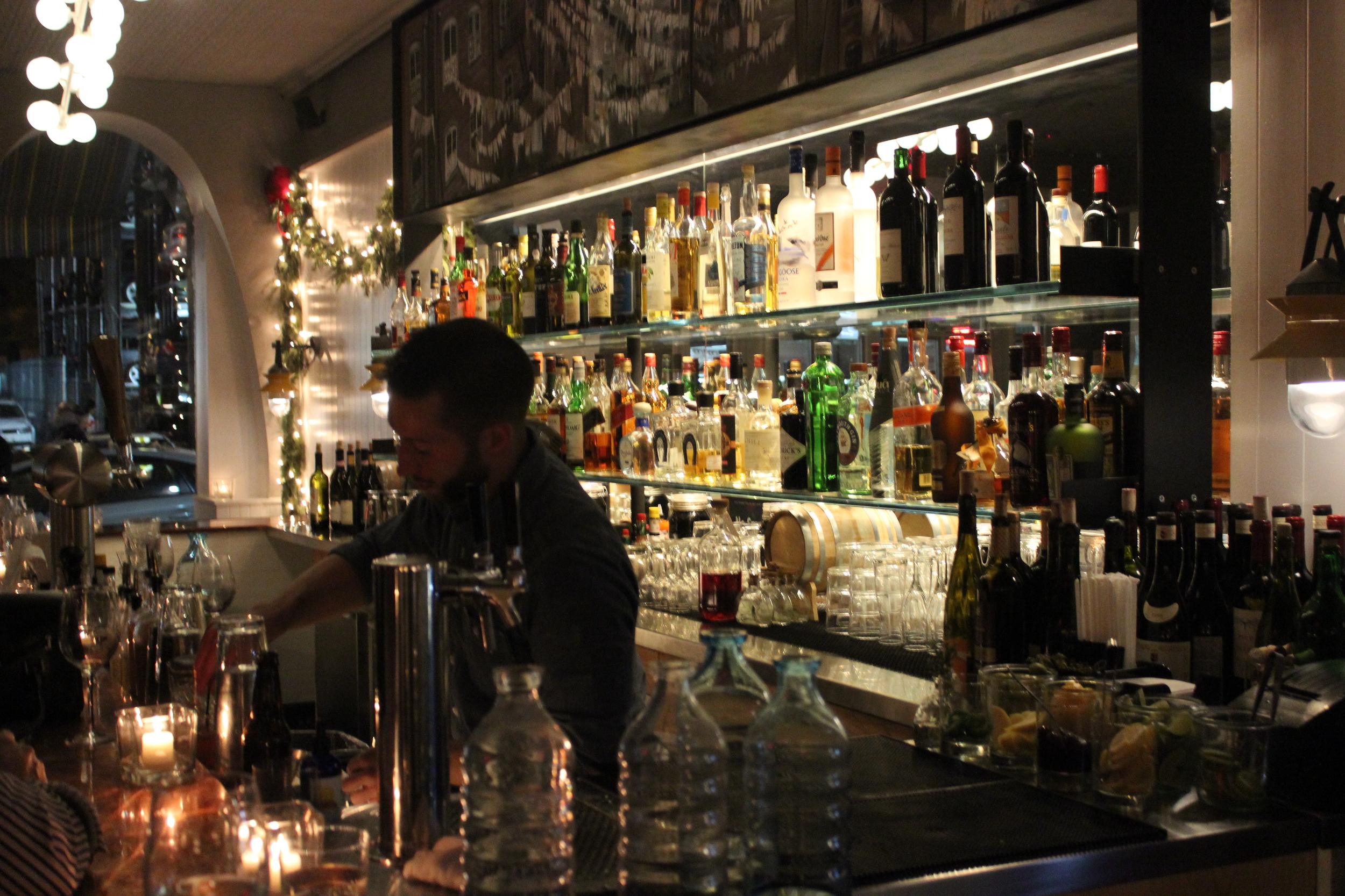 Beautiful Back Bar