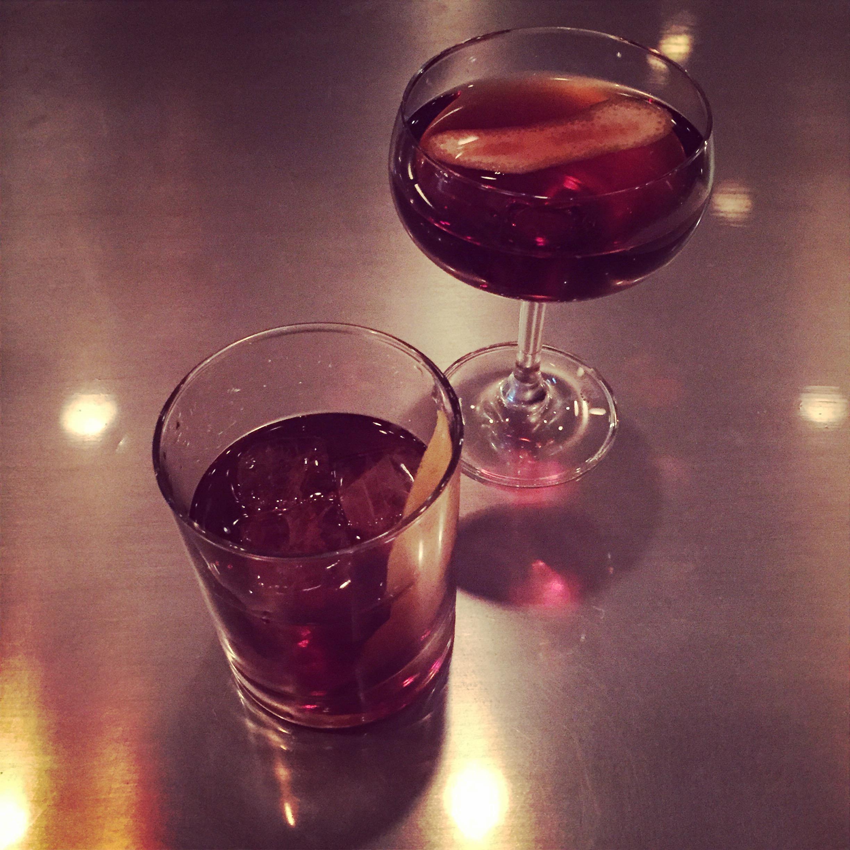 Zacapa Rum Old Fashioned and Manhattan