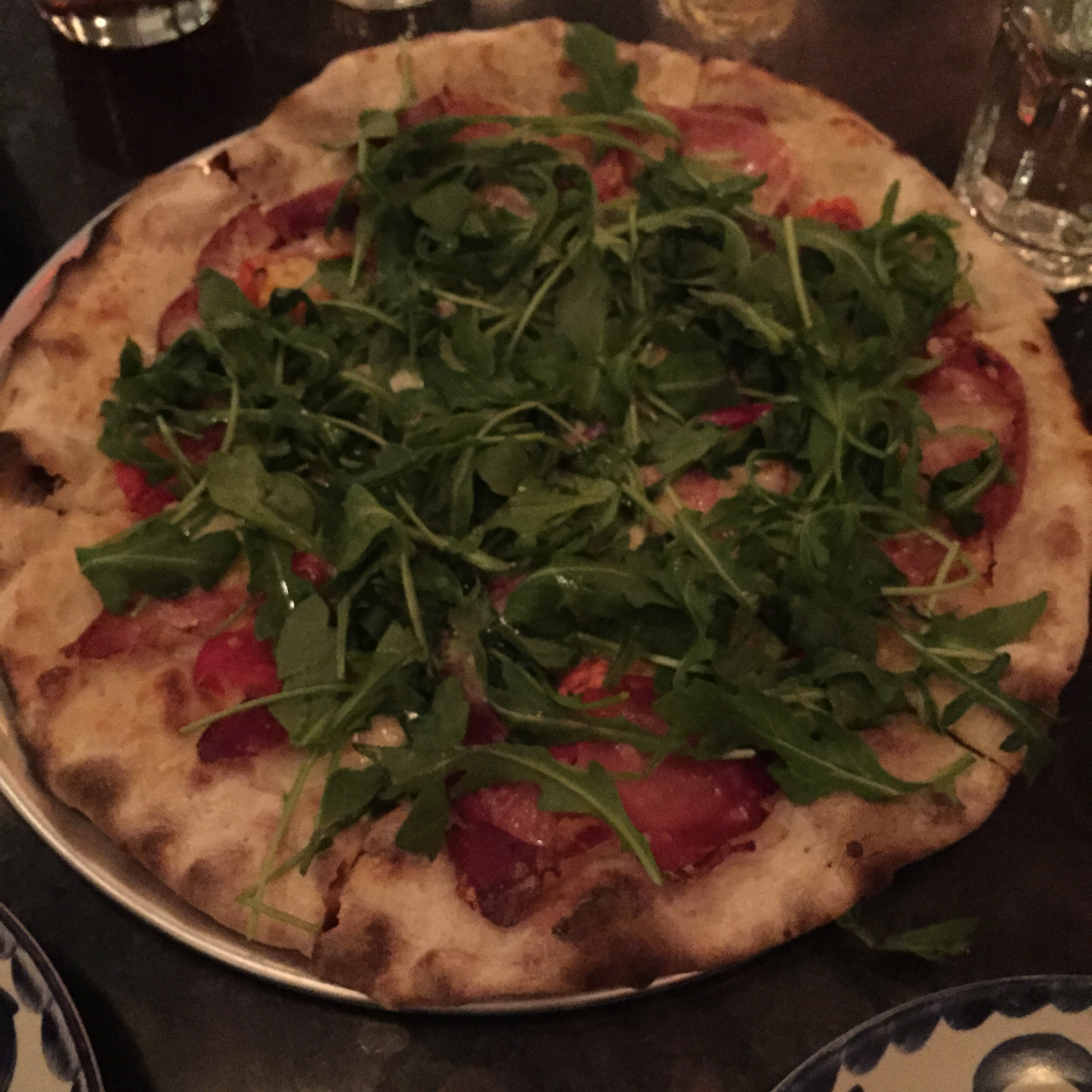 Speck Pizza!