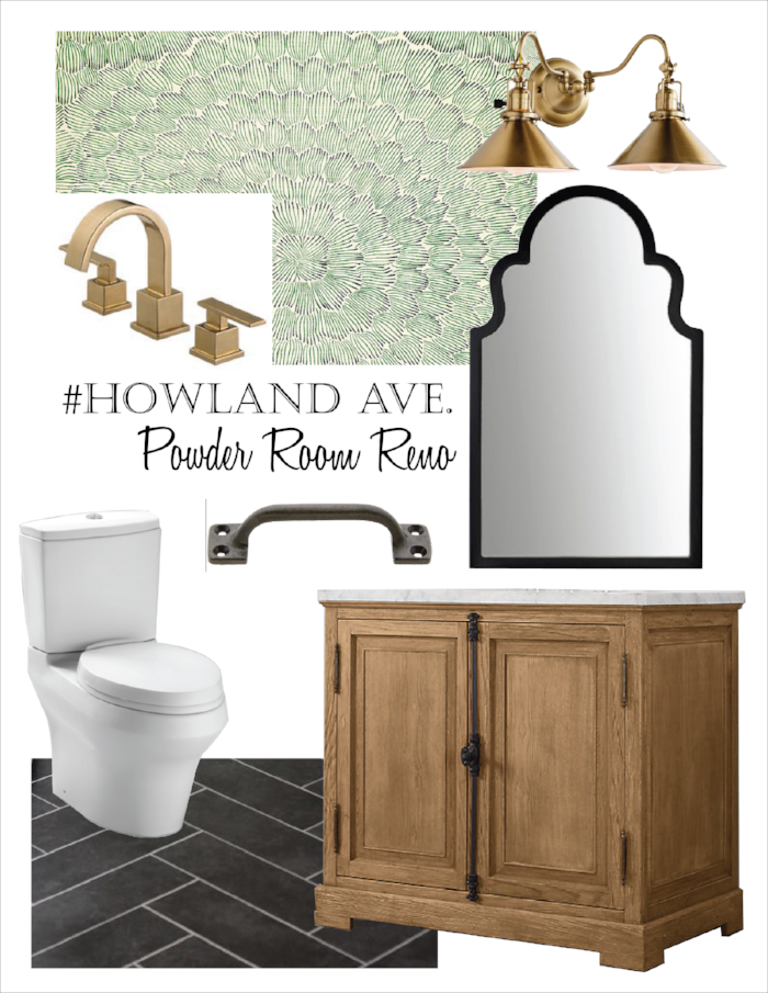 PLANNING: Once a plan is set in place, we create a mood board with all sourced items so the client can understand our overall design vision. This is helpful for those who cannot always visualize the space prior to demo!