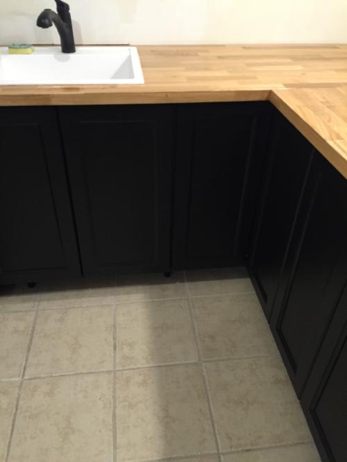 Here's a little sneak peek of the sink area!