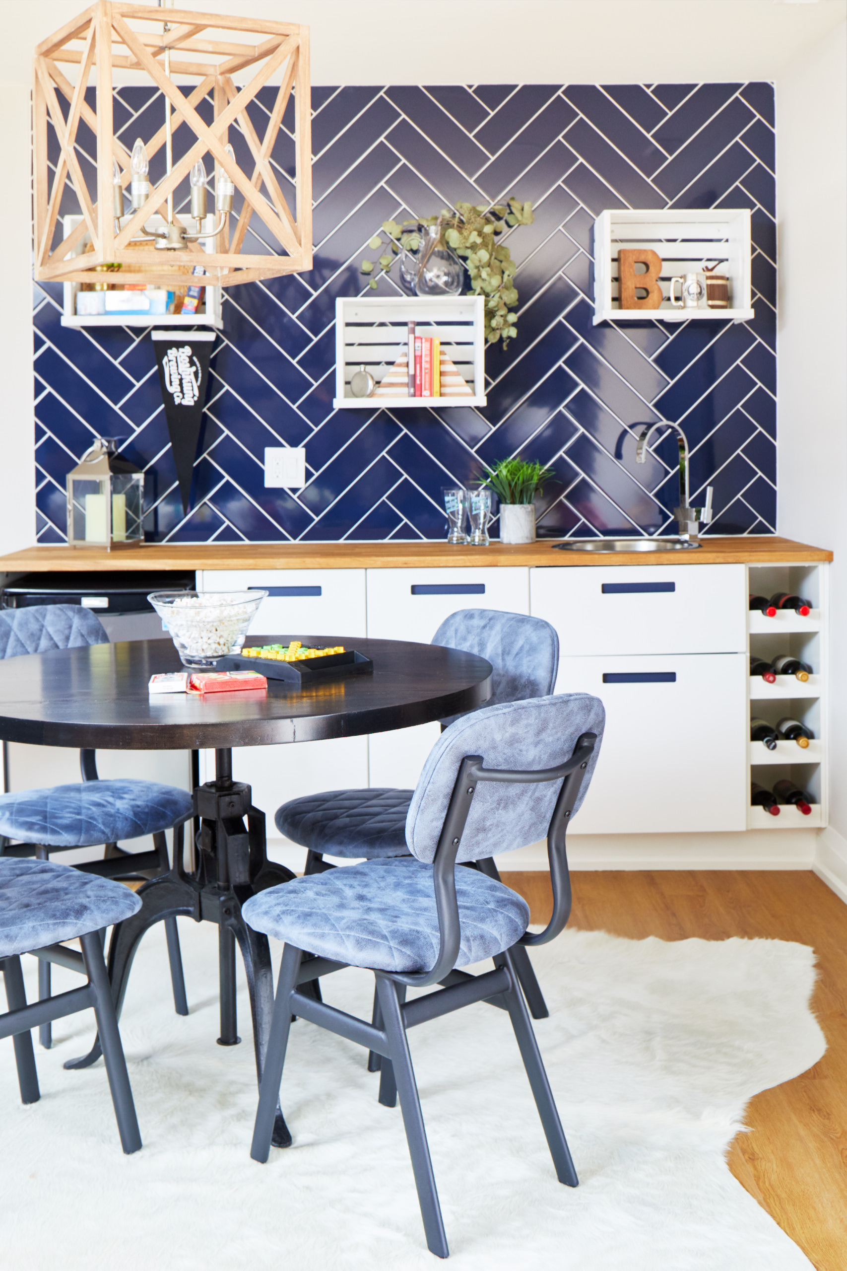 Custom Table & Store Bought Chairs