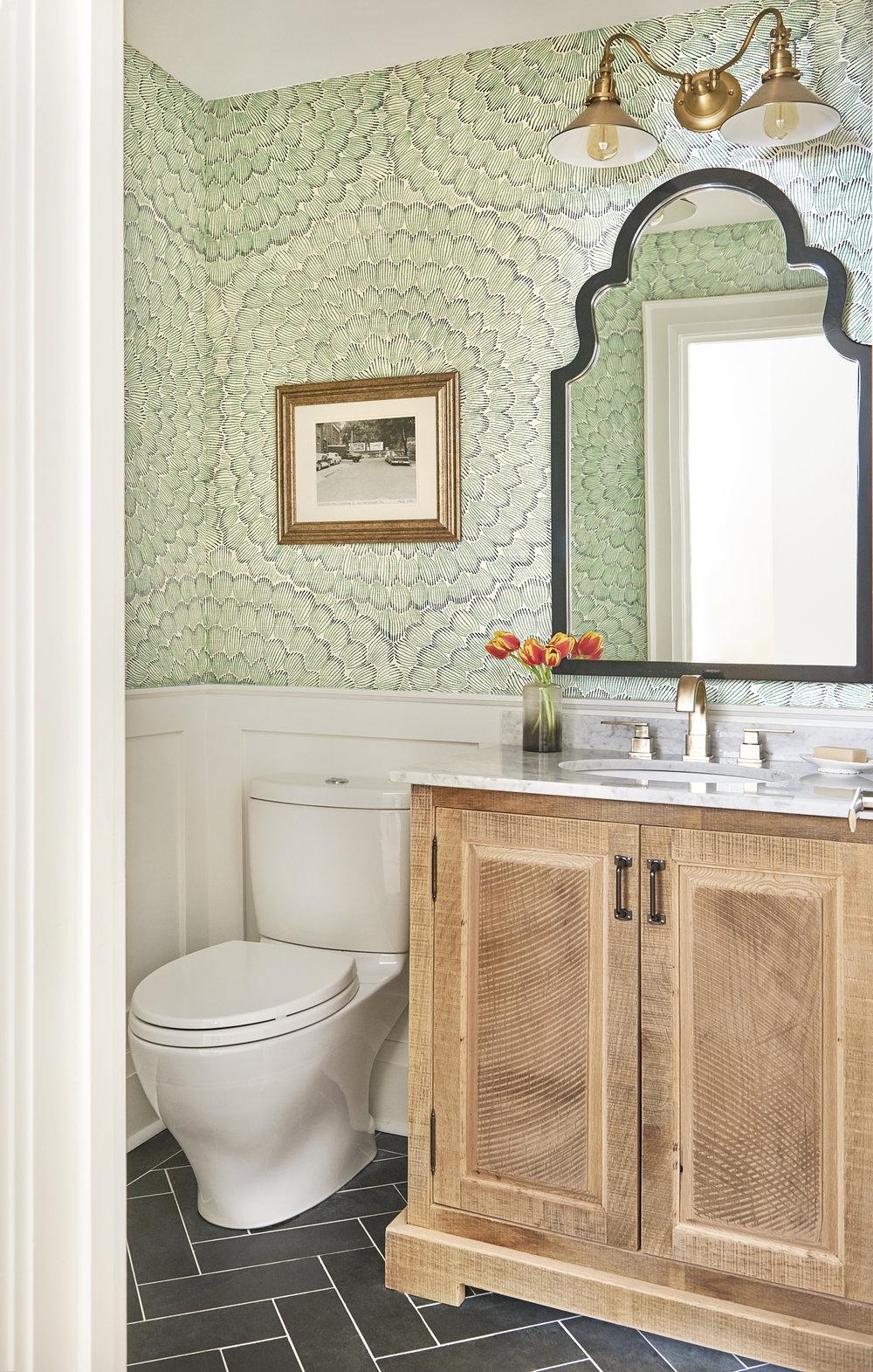 Rebecca Hay Designs - Classic Powder Room