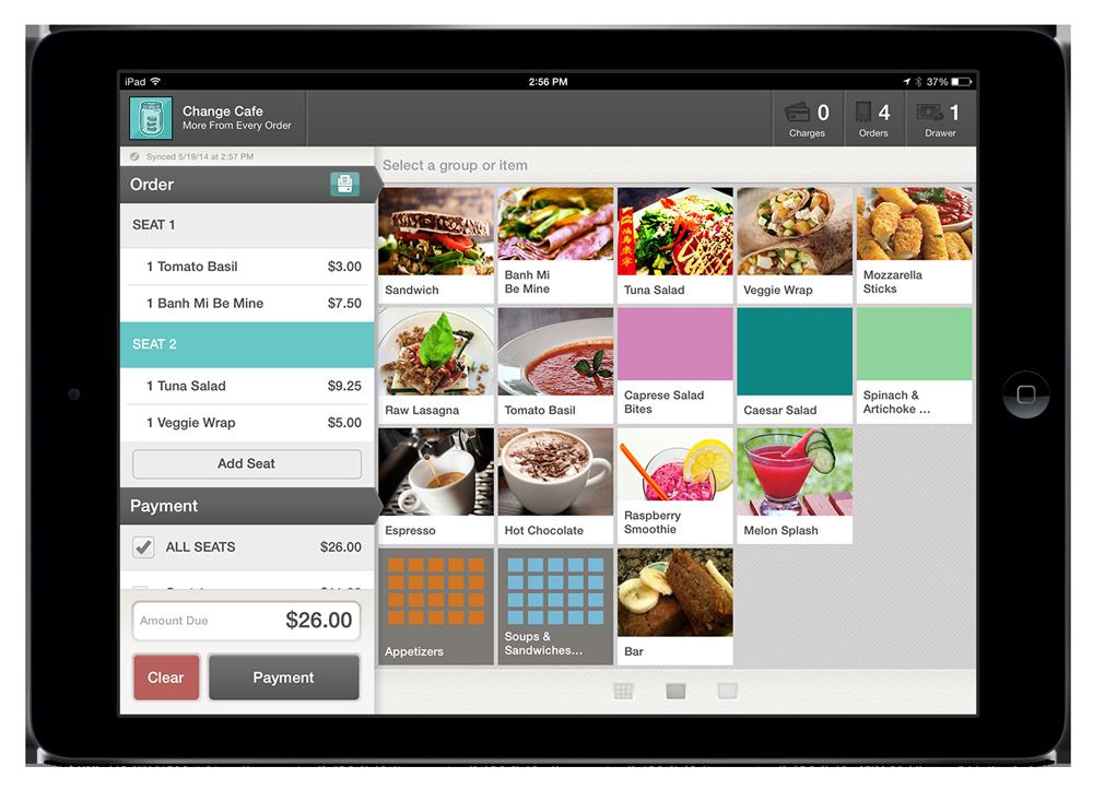 Change iPad Point of Sale App
