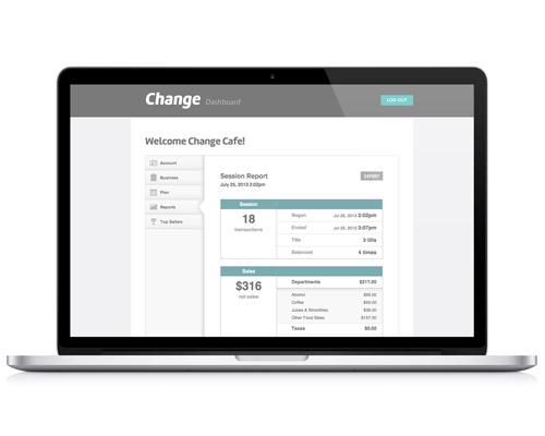 Change Dashboard