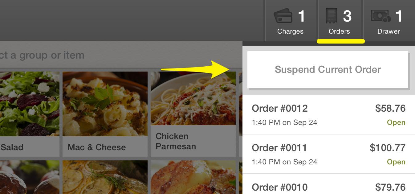 Suspending Orders