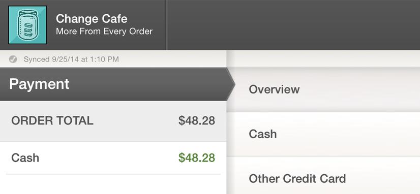 Applied Cash Payment