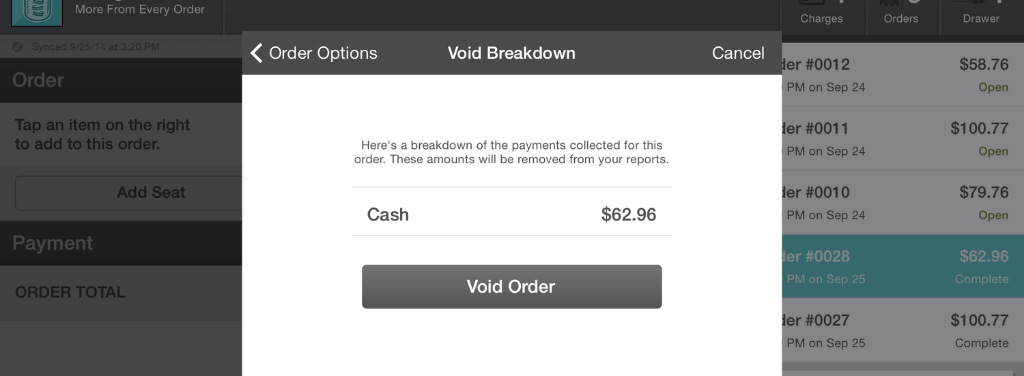 Void Breakdown