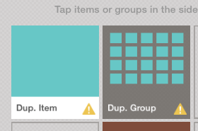 Overlapping Items and Groups