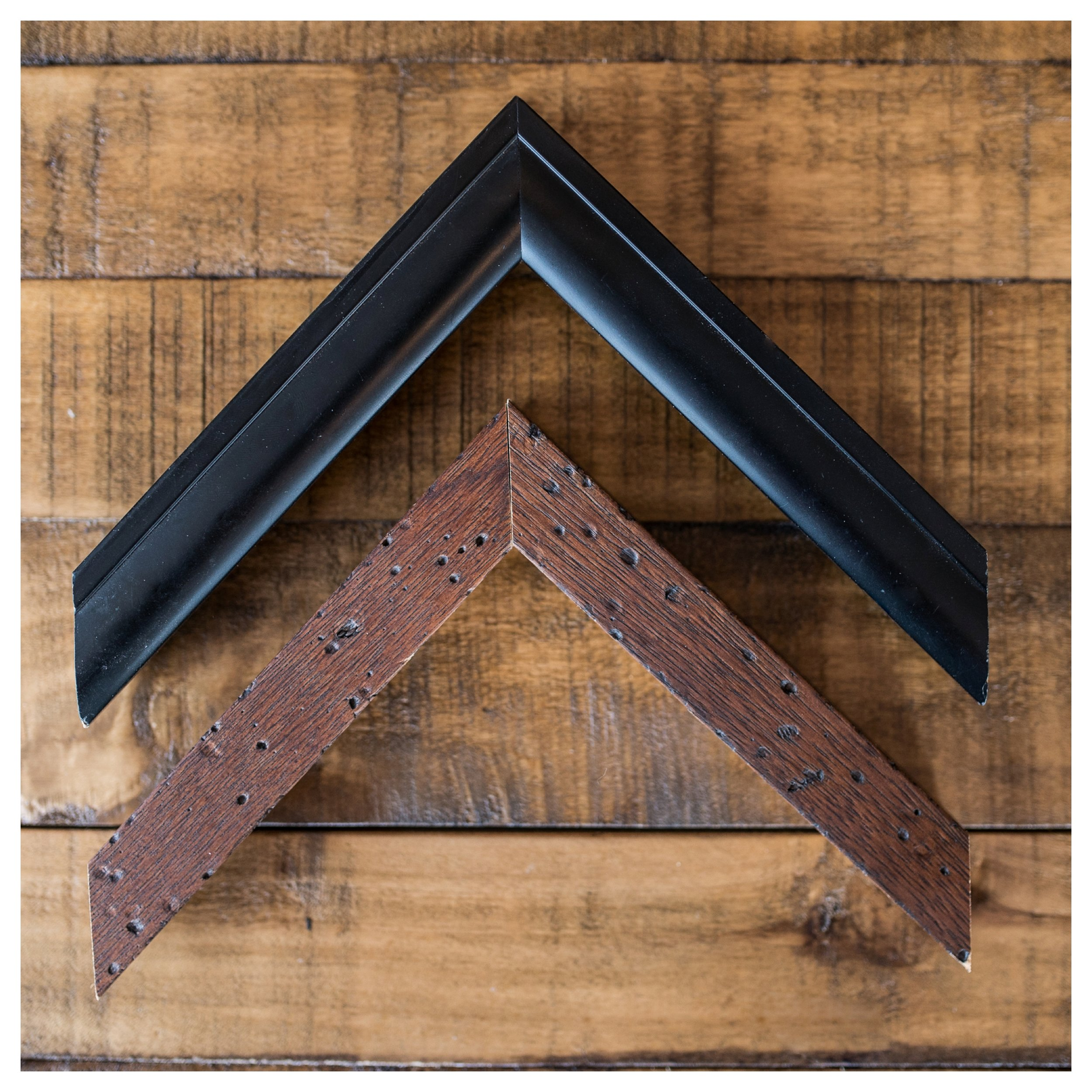 Black and Brown Frame Options
