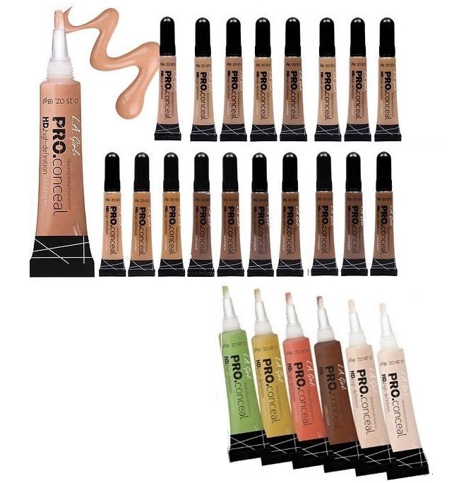 This is well regarded for the color correction concealers as well as the highlighting concealers. It's been called a dupe for Urban Decay's Naked Skin Color Correcting Liquid but at literally a ninth of the cost. If you run red and need some color correction, love to add some dimension to your face routine, or want to conceal a blemish this product is absolutely for you!
