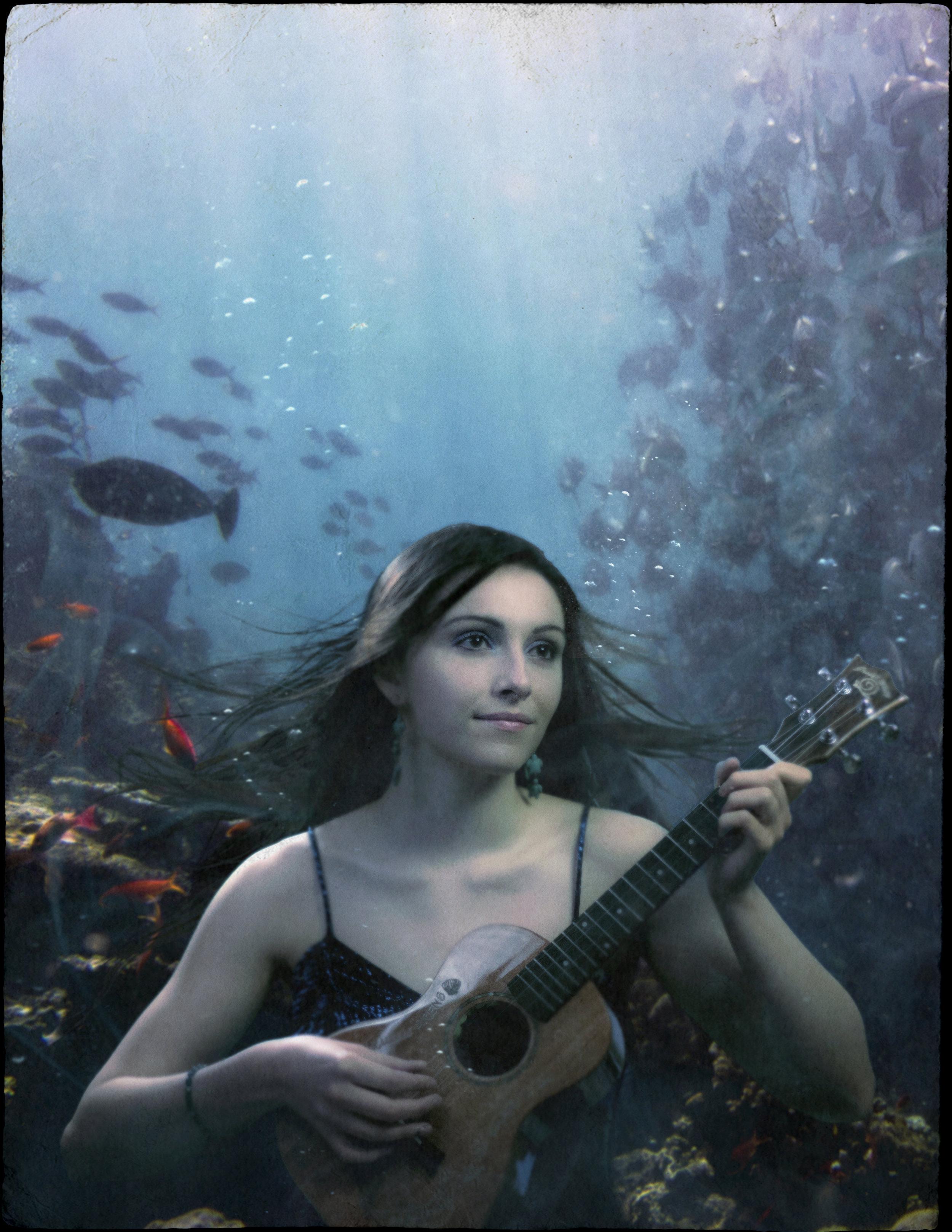 Maiah Wynne Uke Sirens Promotional Graphic