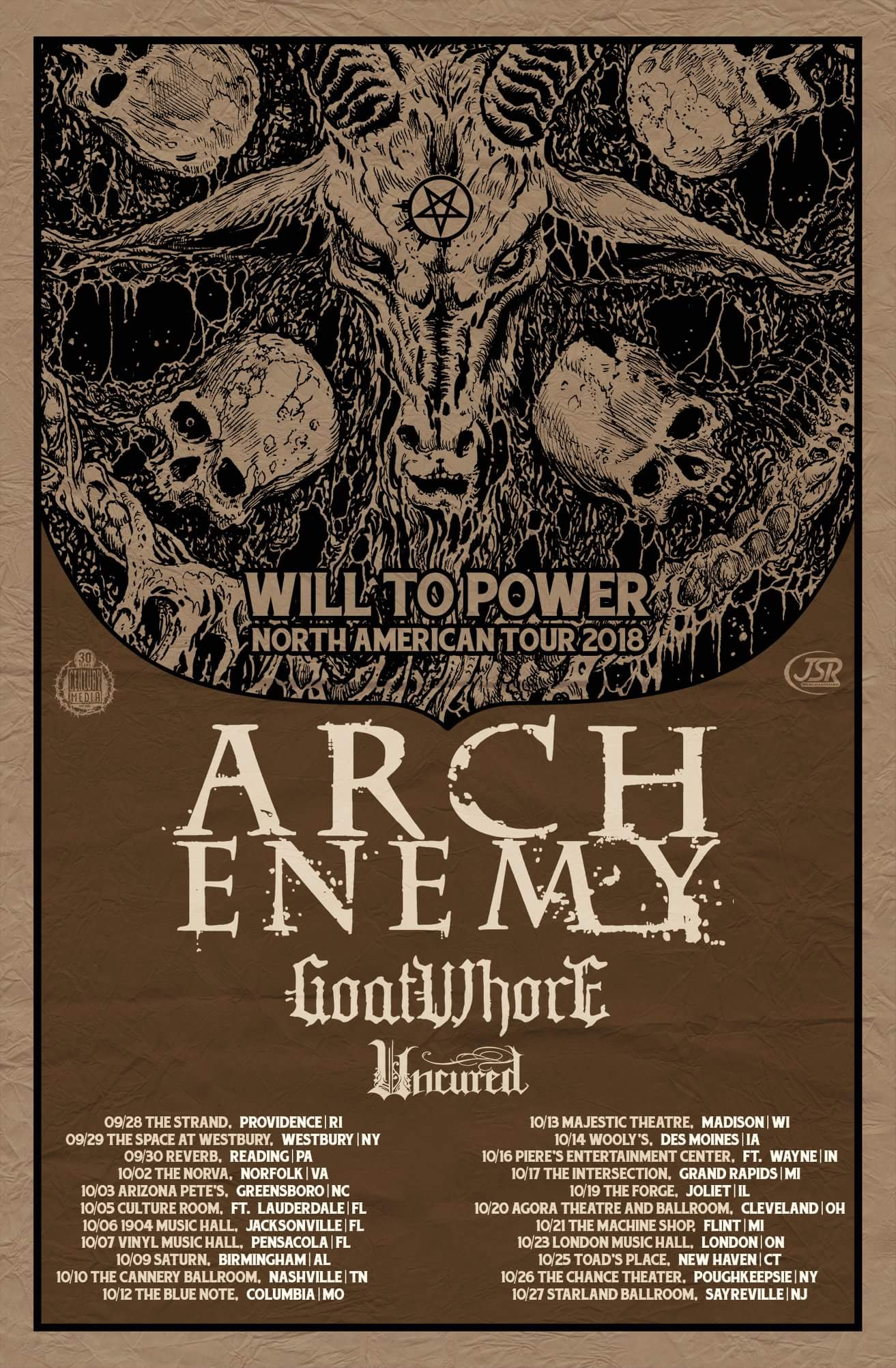 Arch Enemy Announce Fall North American Tour — Kill The Music