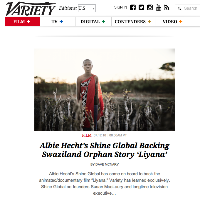 Click the images to read the full article on Variety
