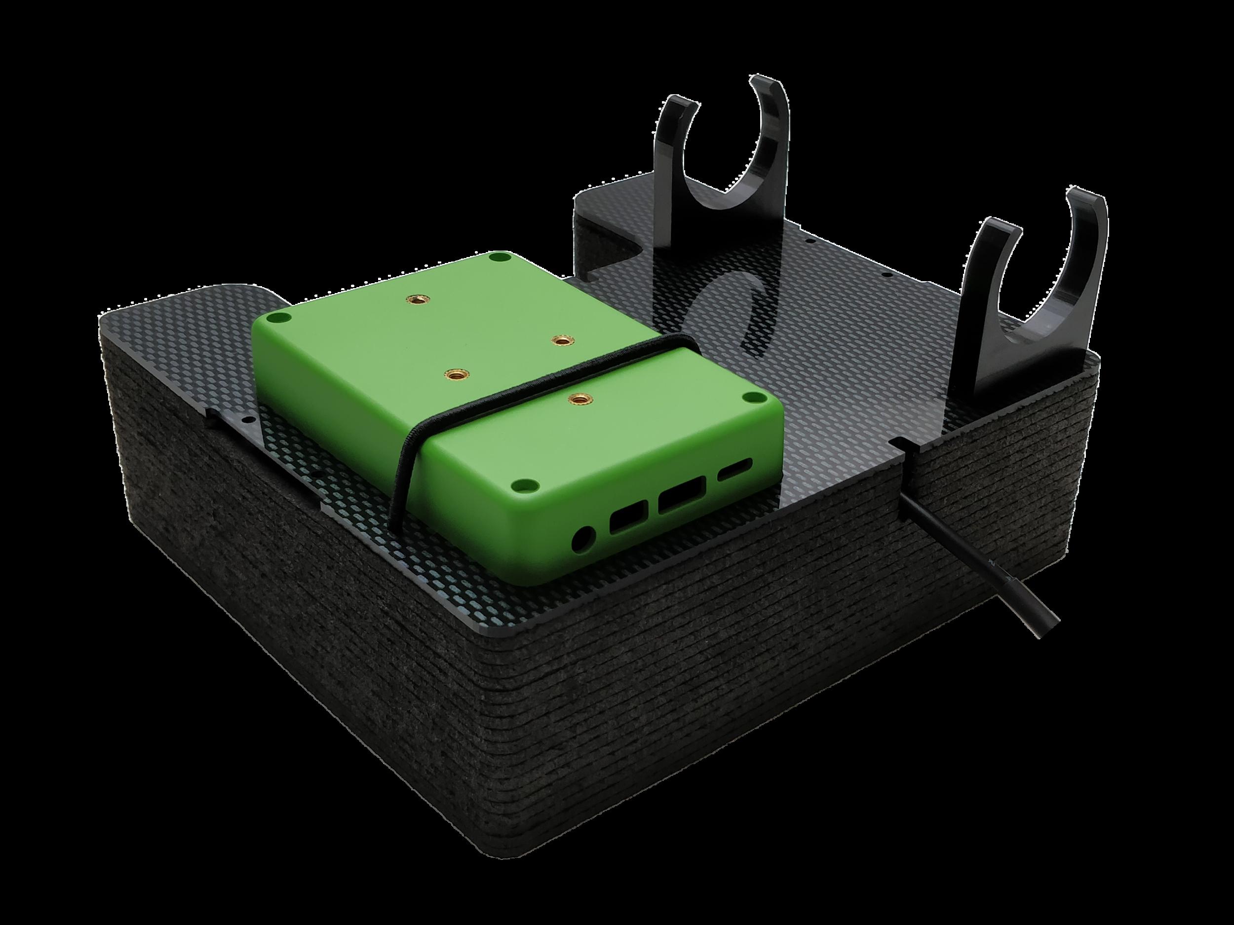 DJI P4 mounting system.