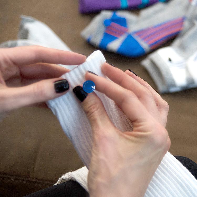 sock tabs