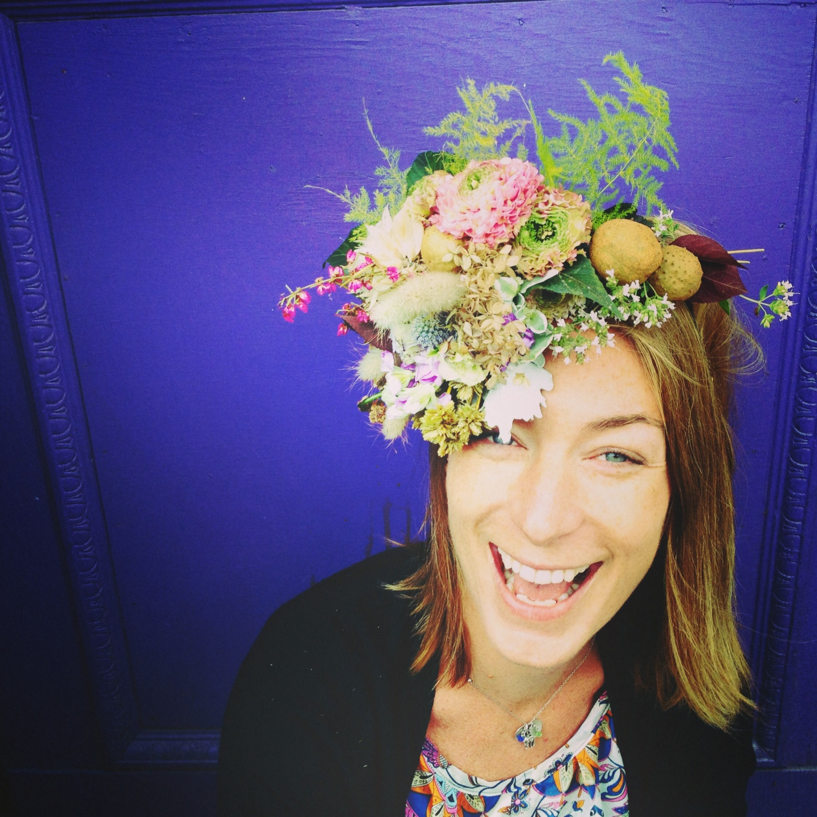EMILIE LAMBERT   is Valley Flower Company's newest addition to the design team. Our resident kind soul is always quick to dance to a catchy beat and is often someone who will go above and beyond to make someone's day.